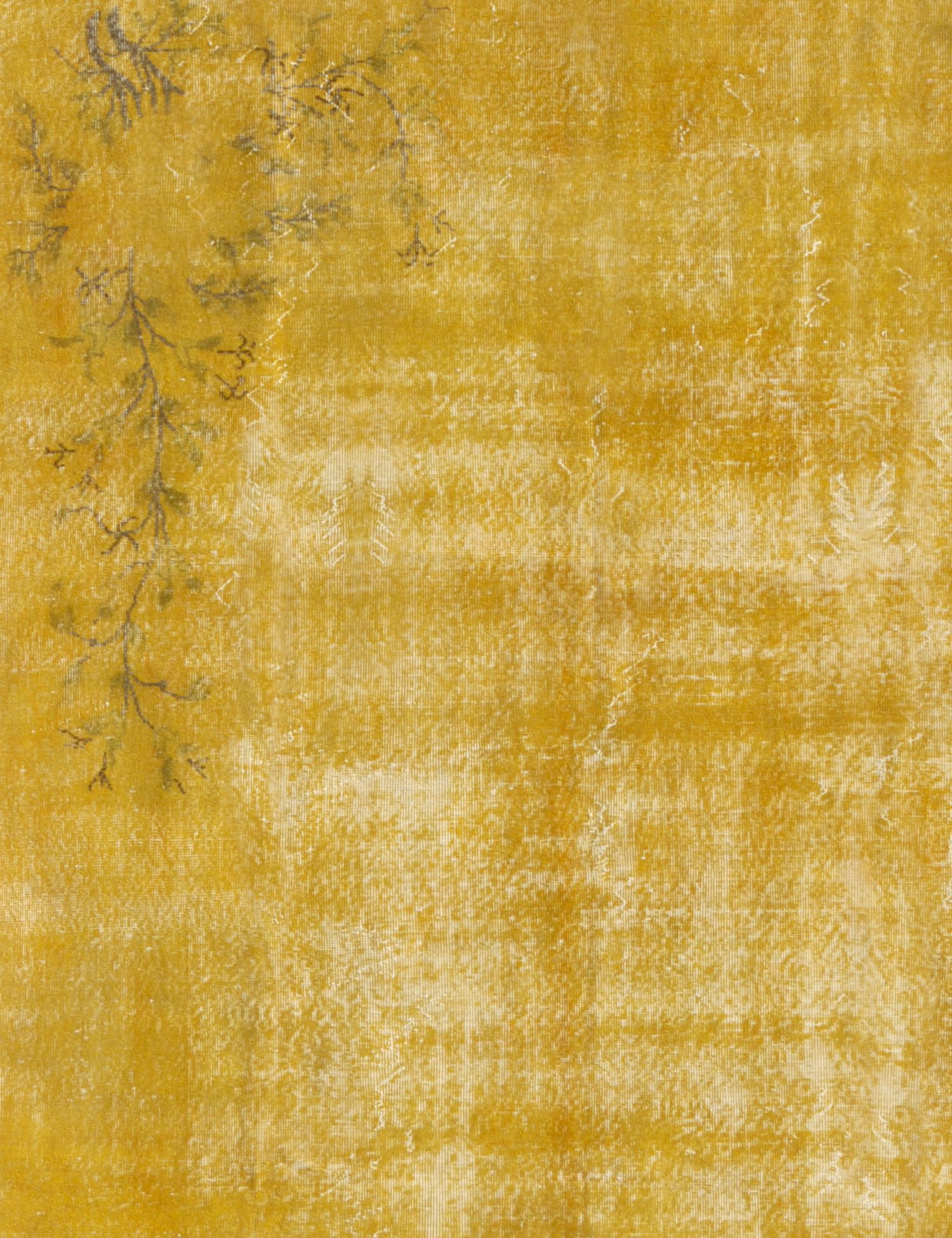 Vintage Carpet  yellow <br/>295 x 203 cm
