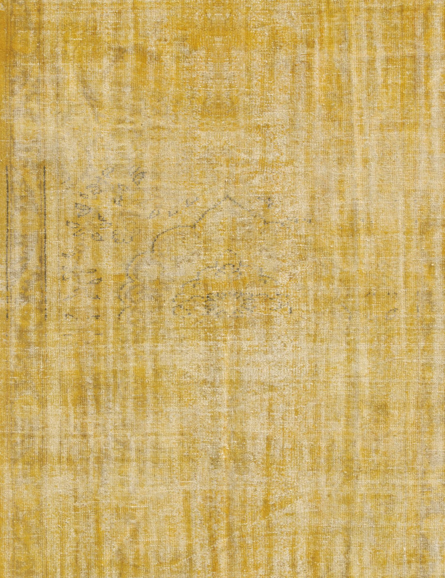 Vintage Carpet  yellow <br/>270 x 184 cm