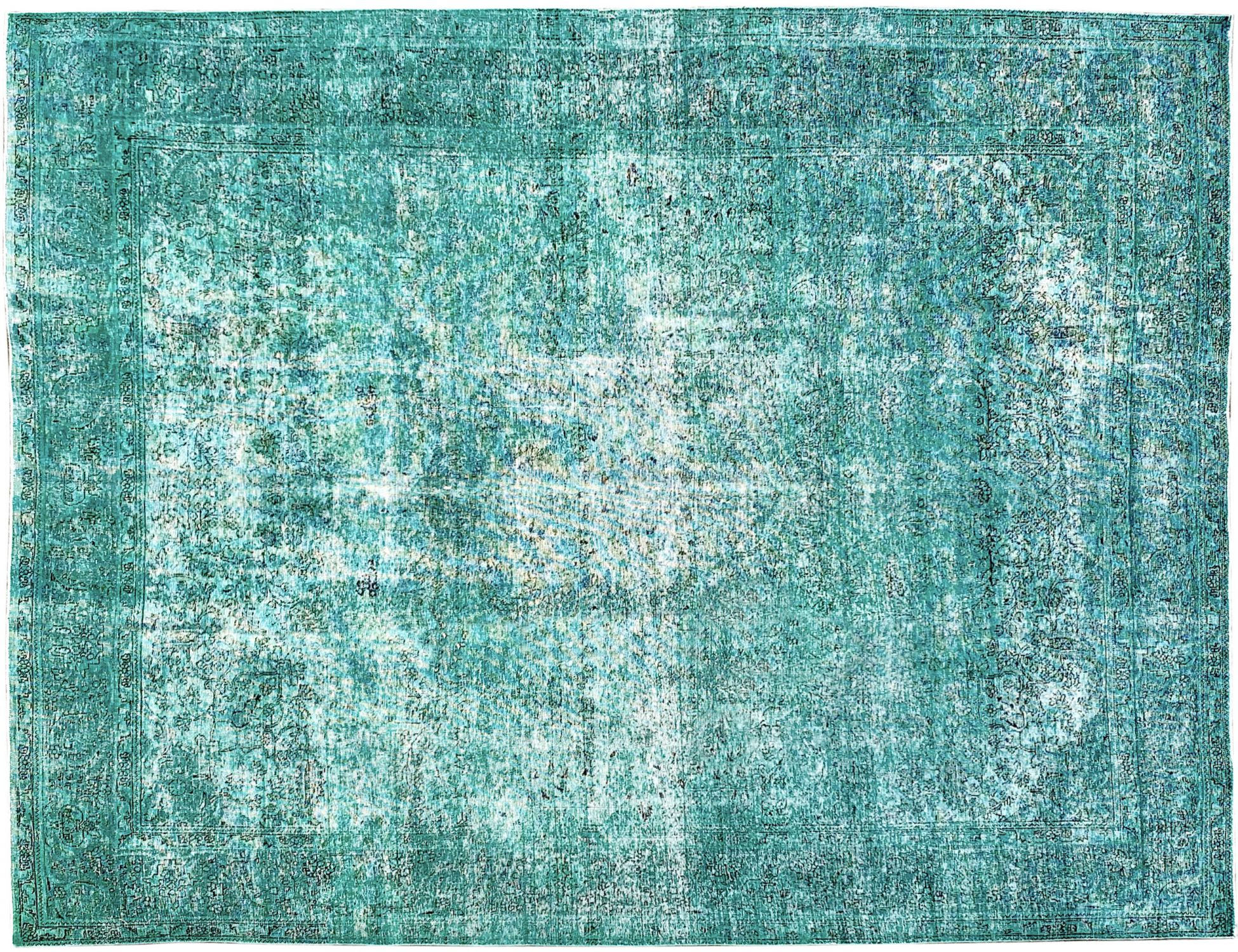 Vintage Carpet  green <br/>391 x 304 cm