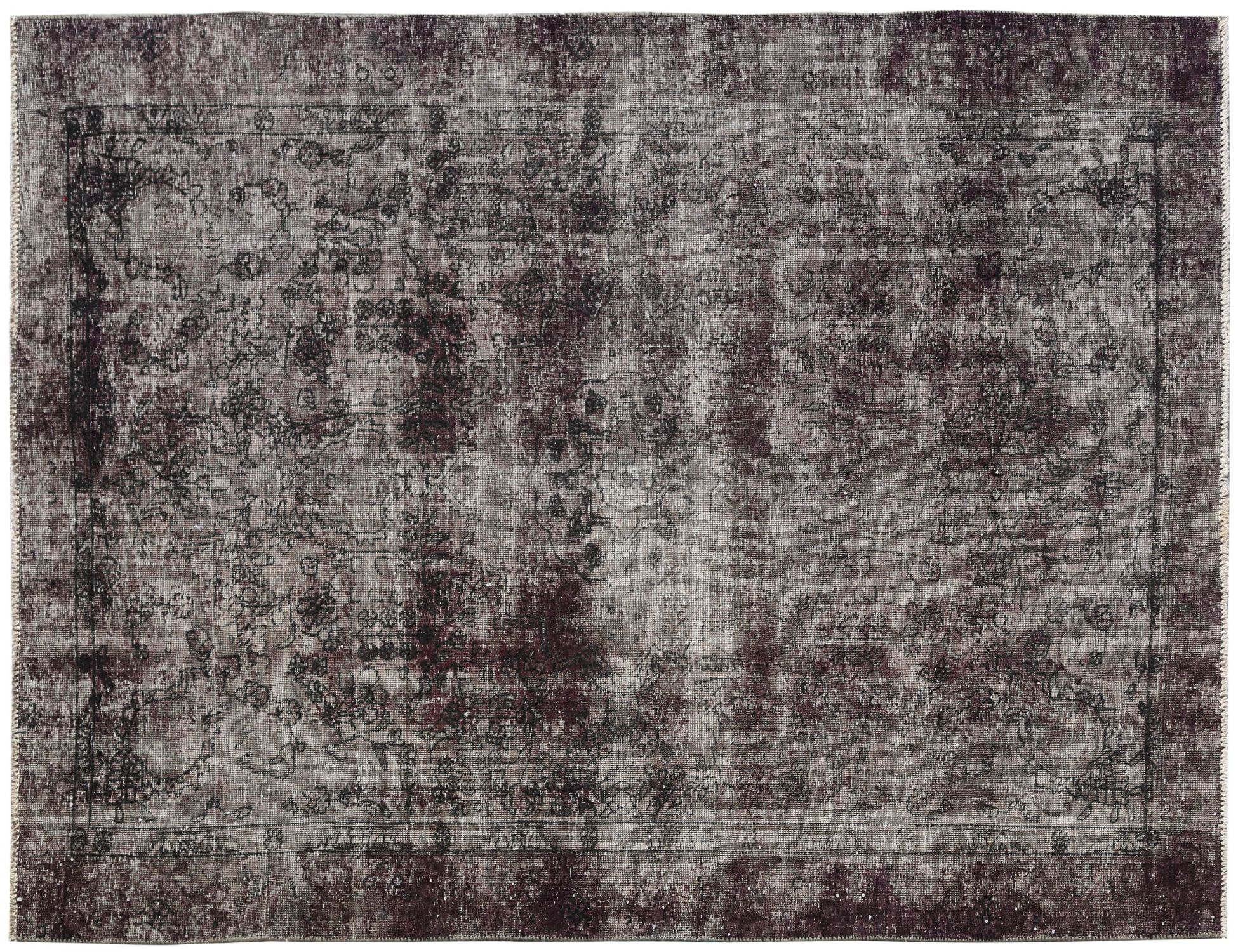Vintage Carpet  black <br/>277 x 190 cm