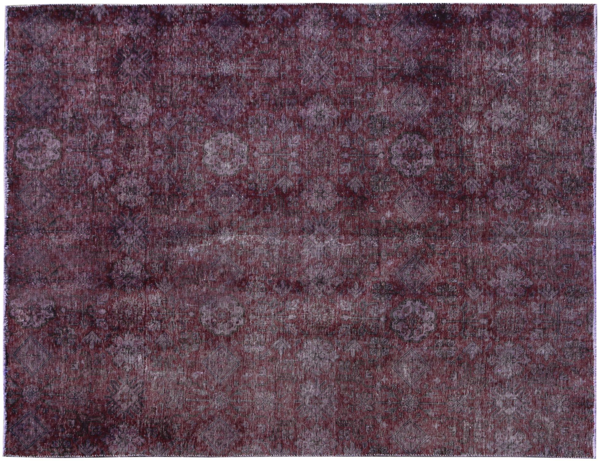 Vintage Carpet  purple <br/>243 x 203 cm