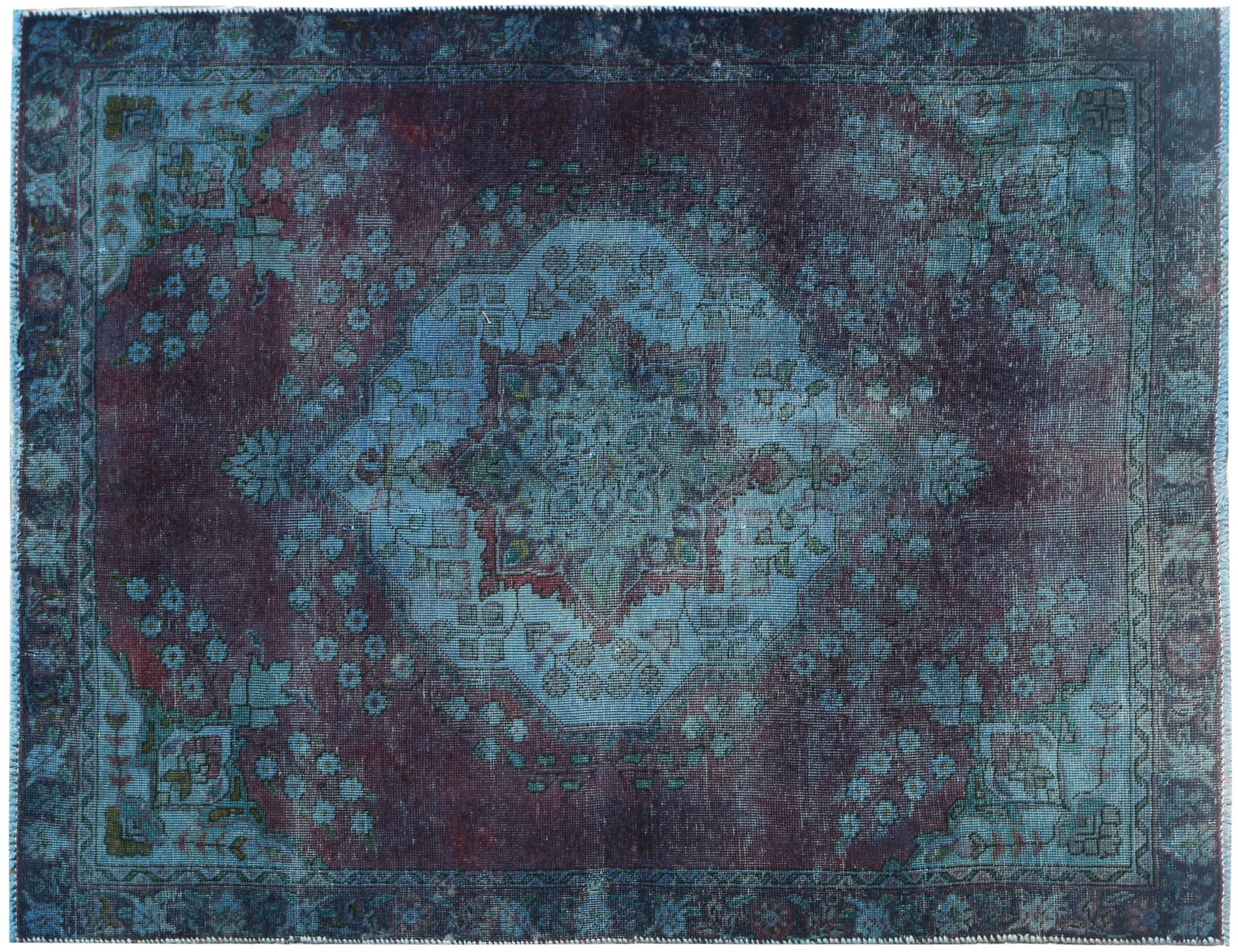 Vintage Carpet  blue <br/>174 x 125 cm