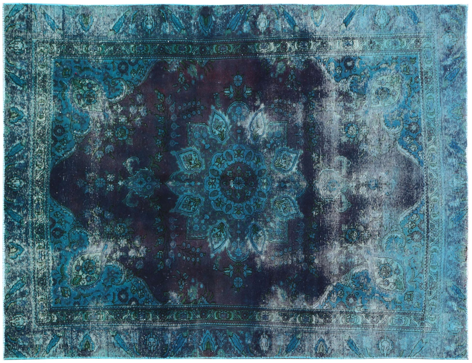 Vintage Carpet  blue <br/>266 x 170 cm