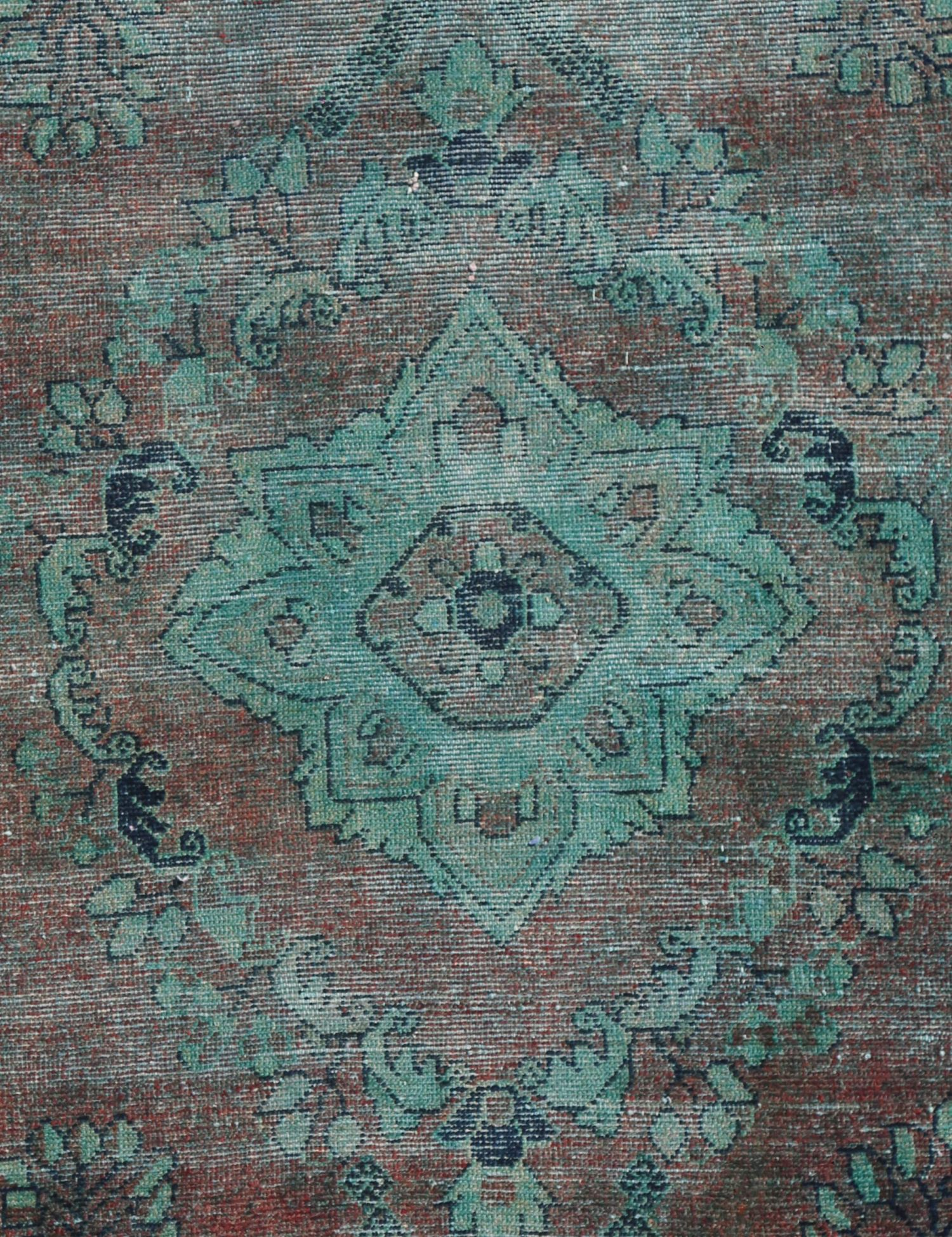 Vintage Carpet  green <br/>152 x 88 cm
