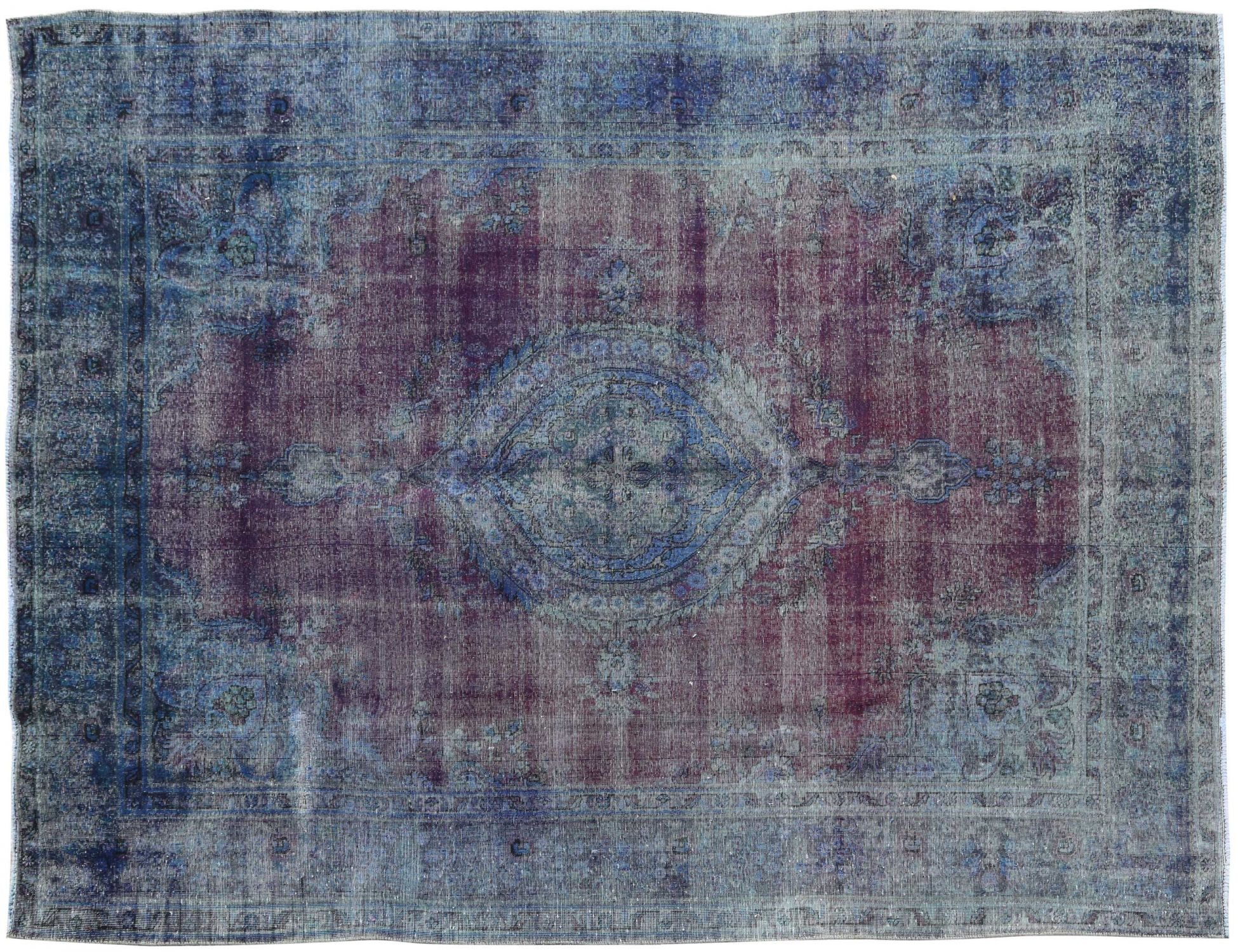 Vintage Carpet  blue <br/>392 x 298 cm
