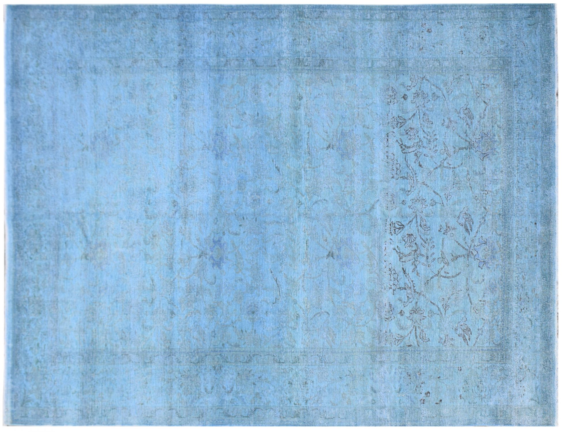 Vintage Carpet  blue <br/>291 x 204 cm
