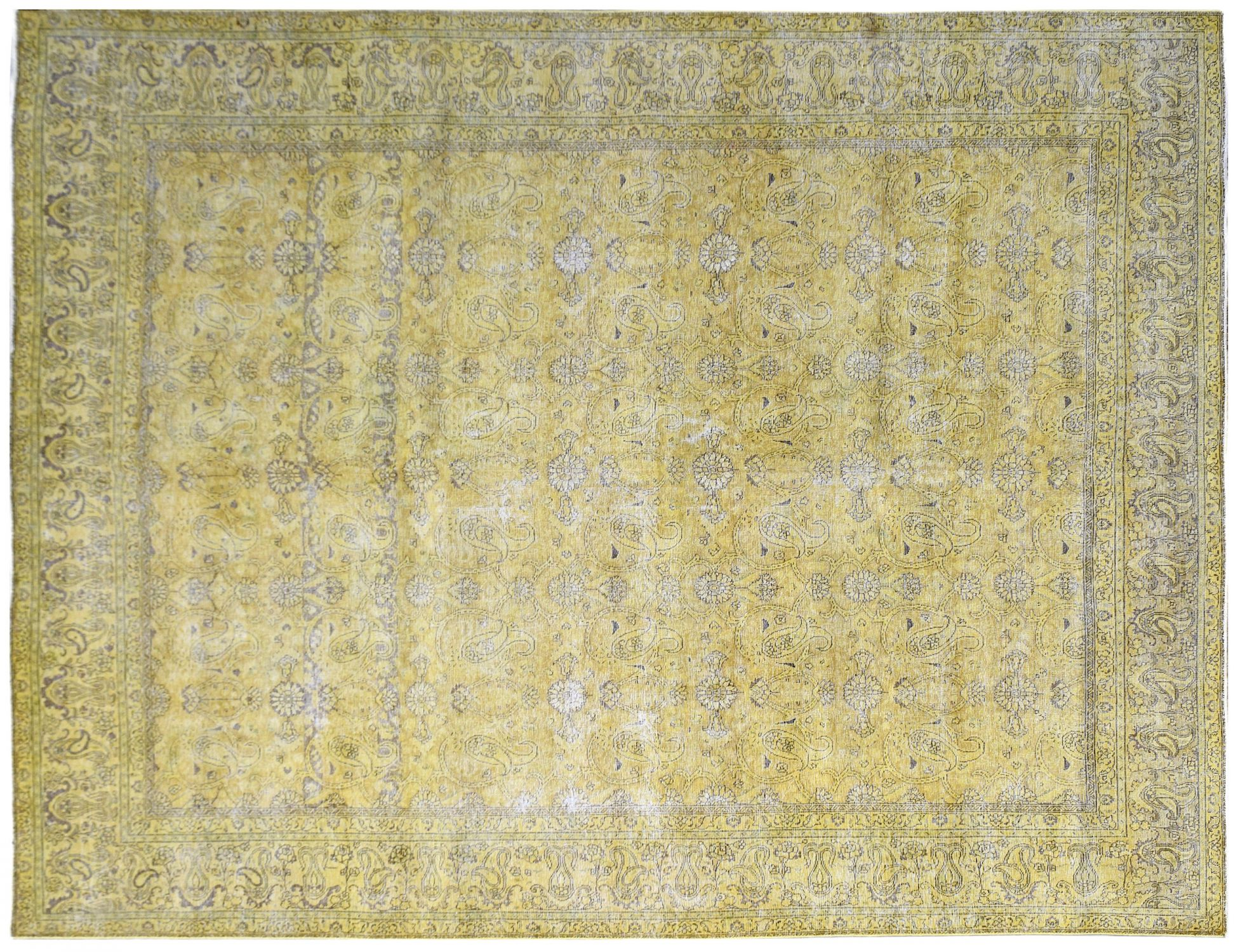 Vintage Carpet  yellow <br/>387 x 284 cm