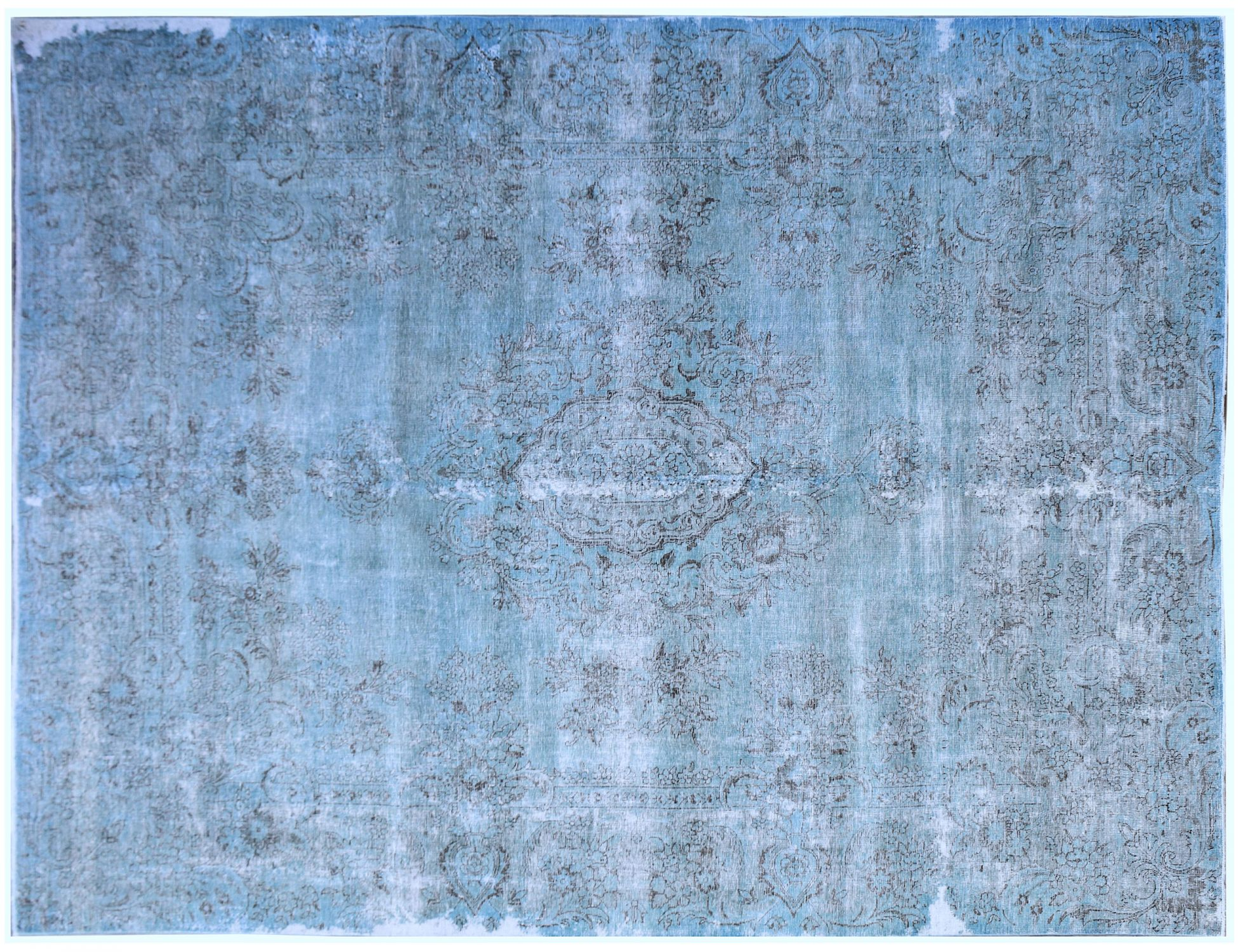Vintage Carpet  blue <br/>389 x 289 cm