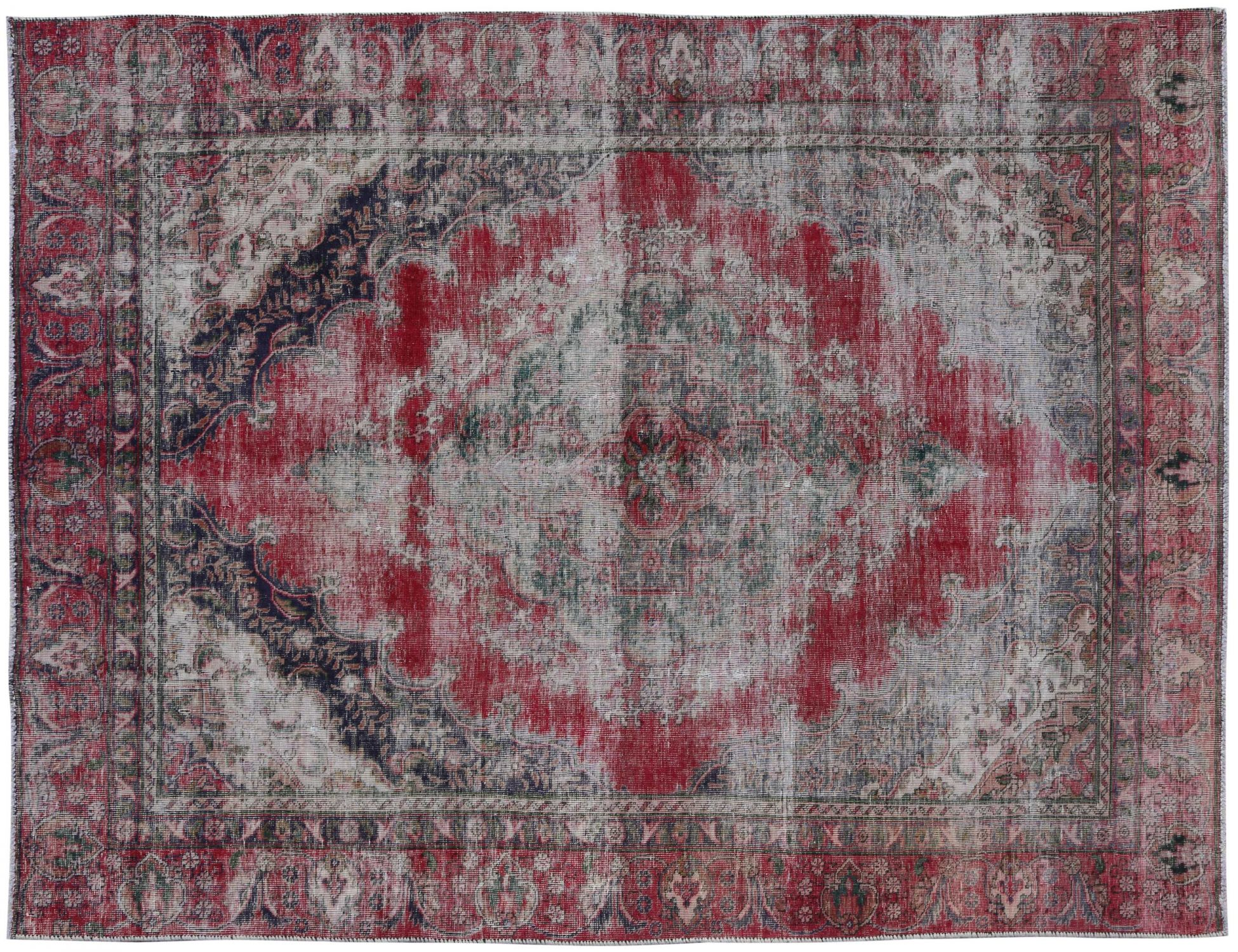 Retro Rug  red <br/>298 x 203 cm