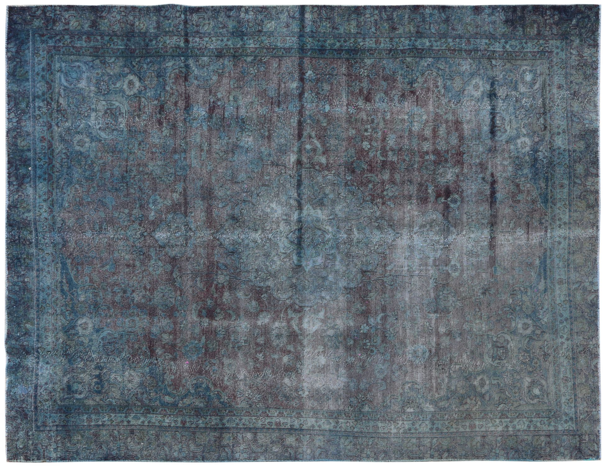 Vintage Carpet  blue <br/>332 x 276 cm