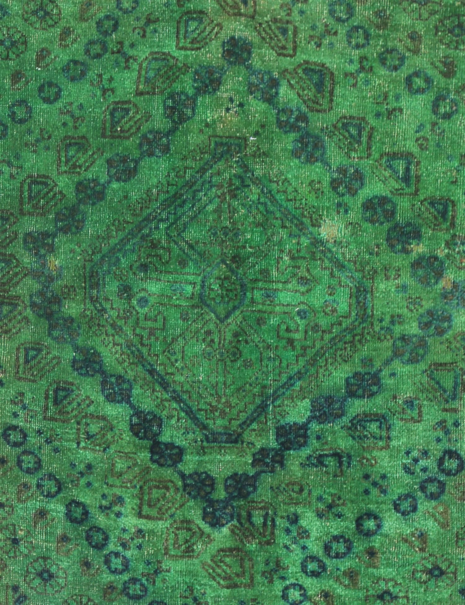 Vintage Carpet  green <br/>193 x 97 cm