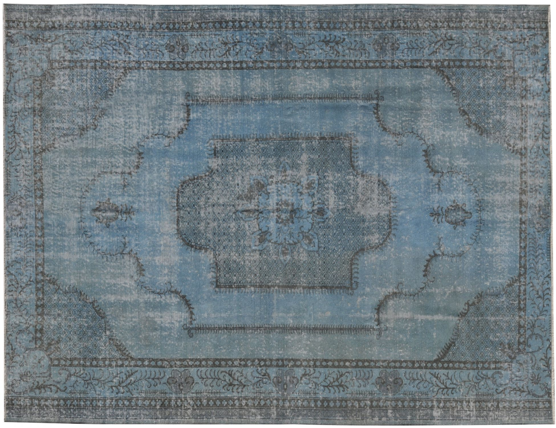 Vintage Carpet  blue <br/>275 x 205 cm
