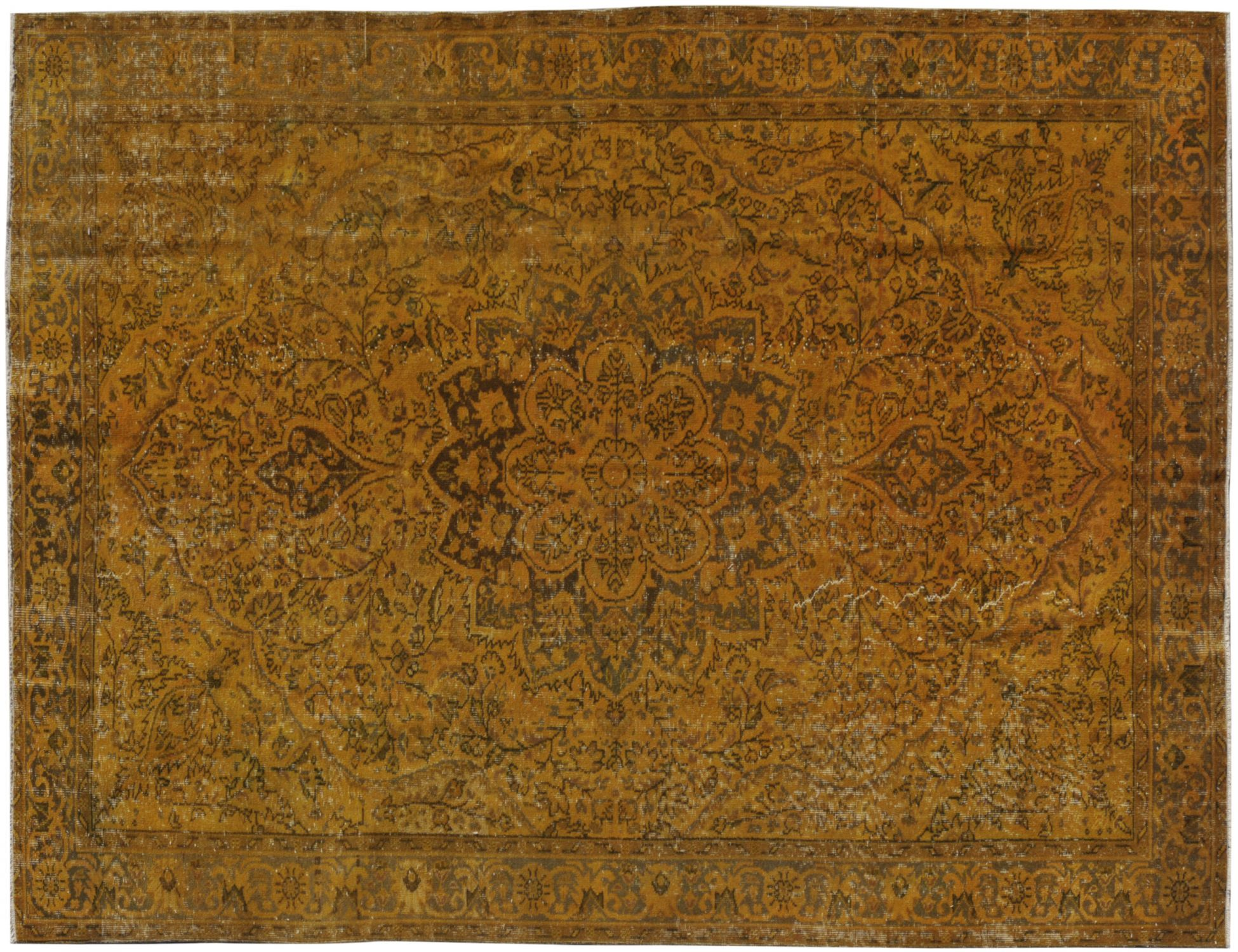 Vintage Carpet  orange <br/>283 x 193 cm
