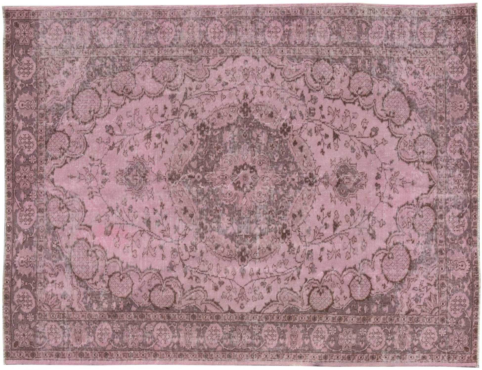 Overdyed Carpet  pink <br/>255 x 166 cm