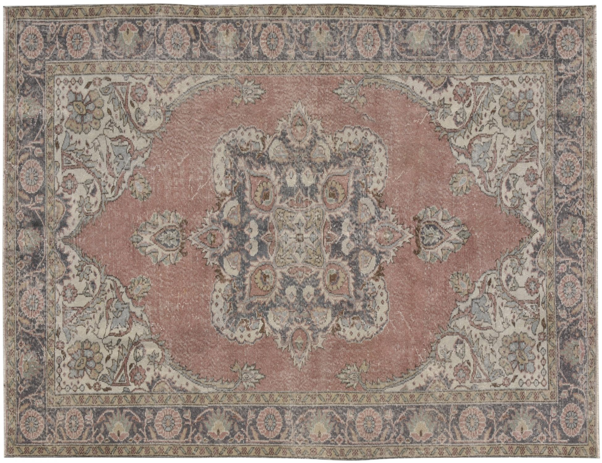 Vintage Carpet  brown <br/>314 x 186 cm