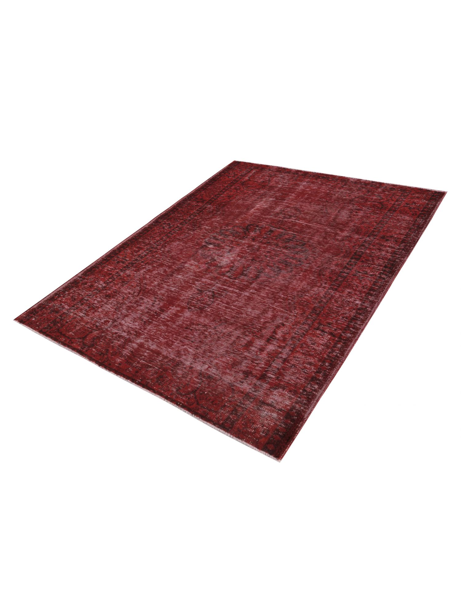 Overdyed Carpet  red <br/>260 x 190 cm