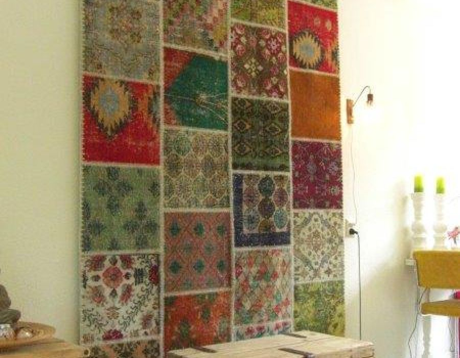 Thinking Outside the Box with Vintage Carpet Artwork