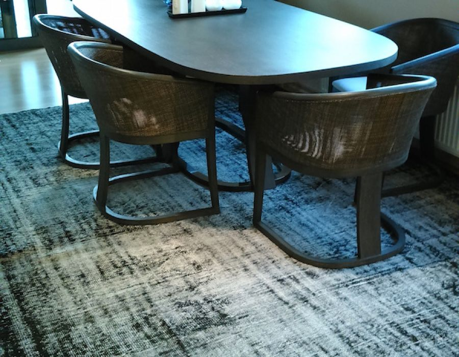 Our Overdyed Rugs Make An Impact In Milan