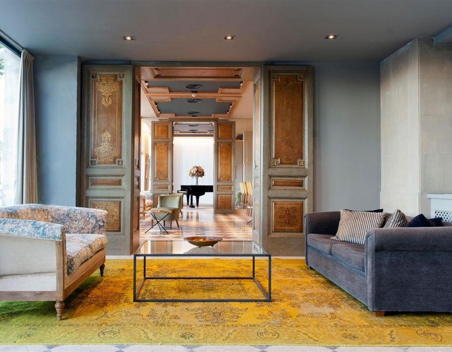 Persian Vintage Carpets Elevate a Boutique Hotel in Barcelona