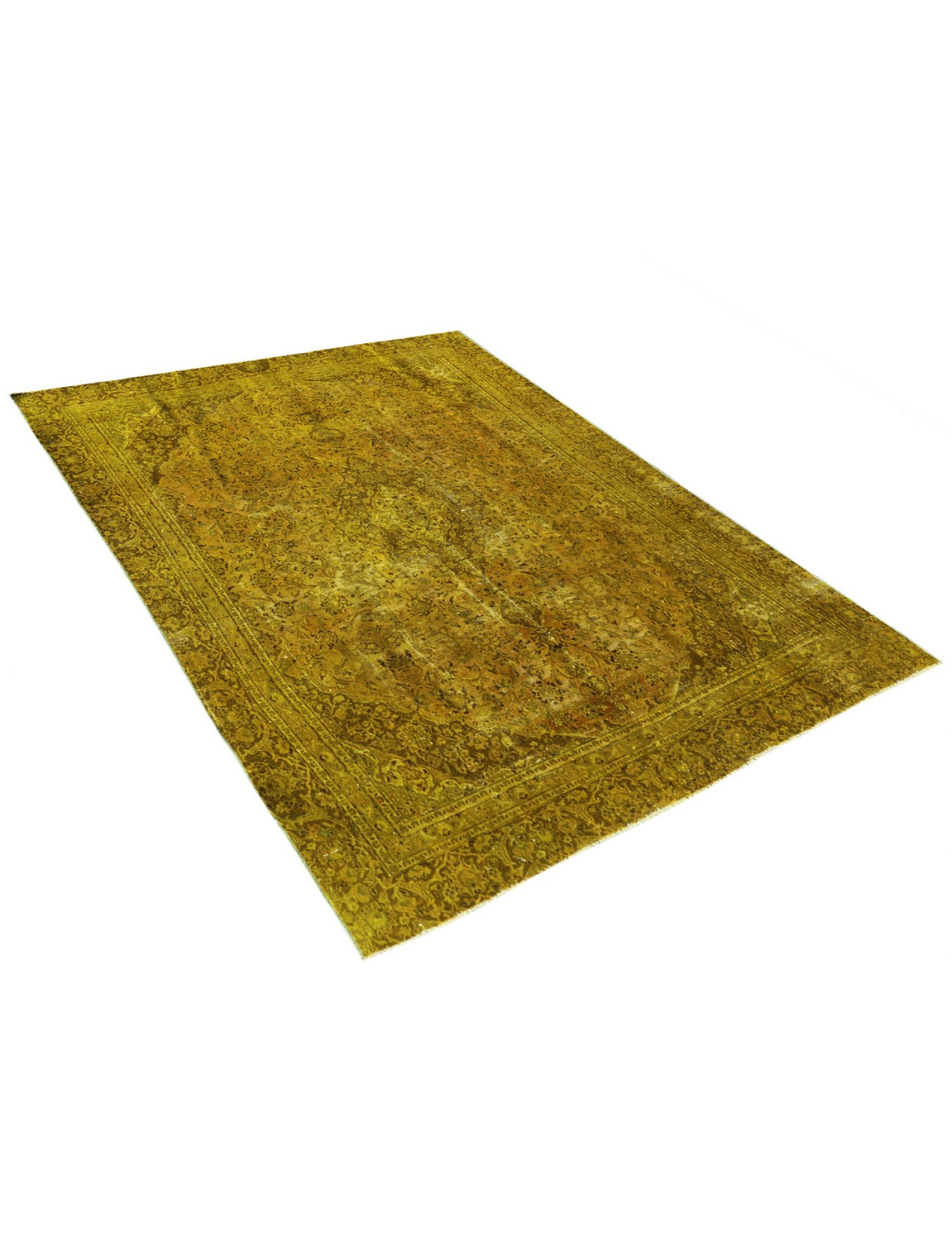 Vintage Carpet  yellow <br/>331 x 253 cm