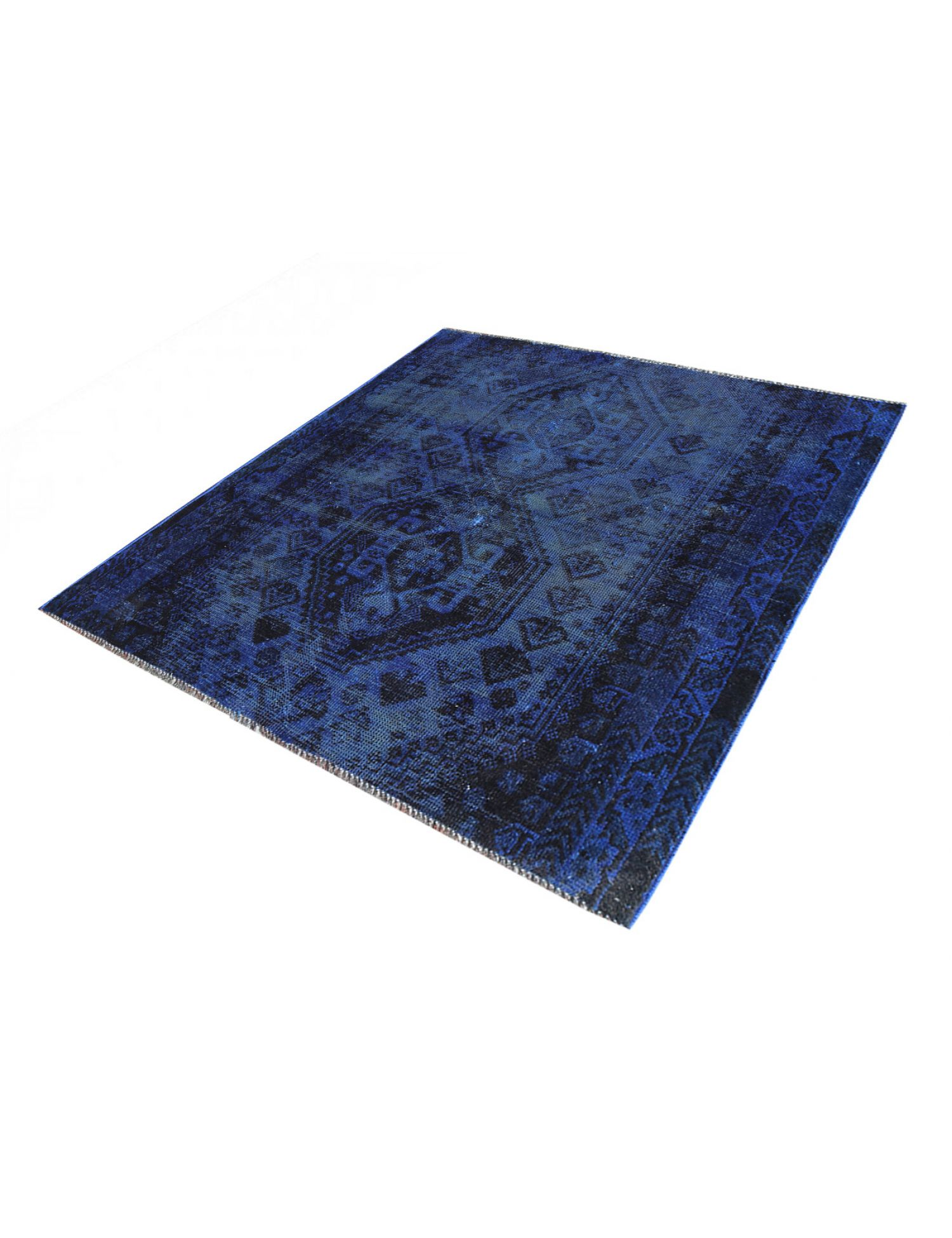 Vintage Carpet  blue <br/>149 x 148 cm