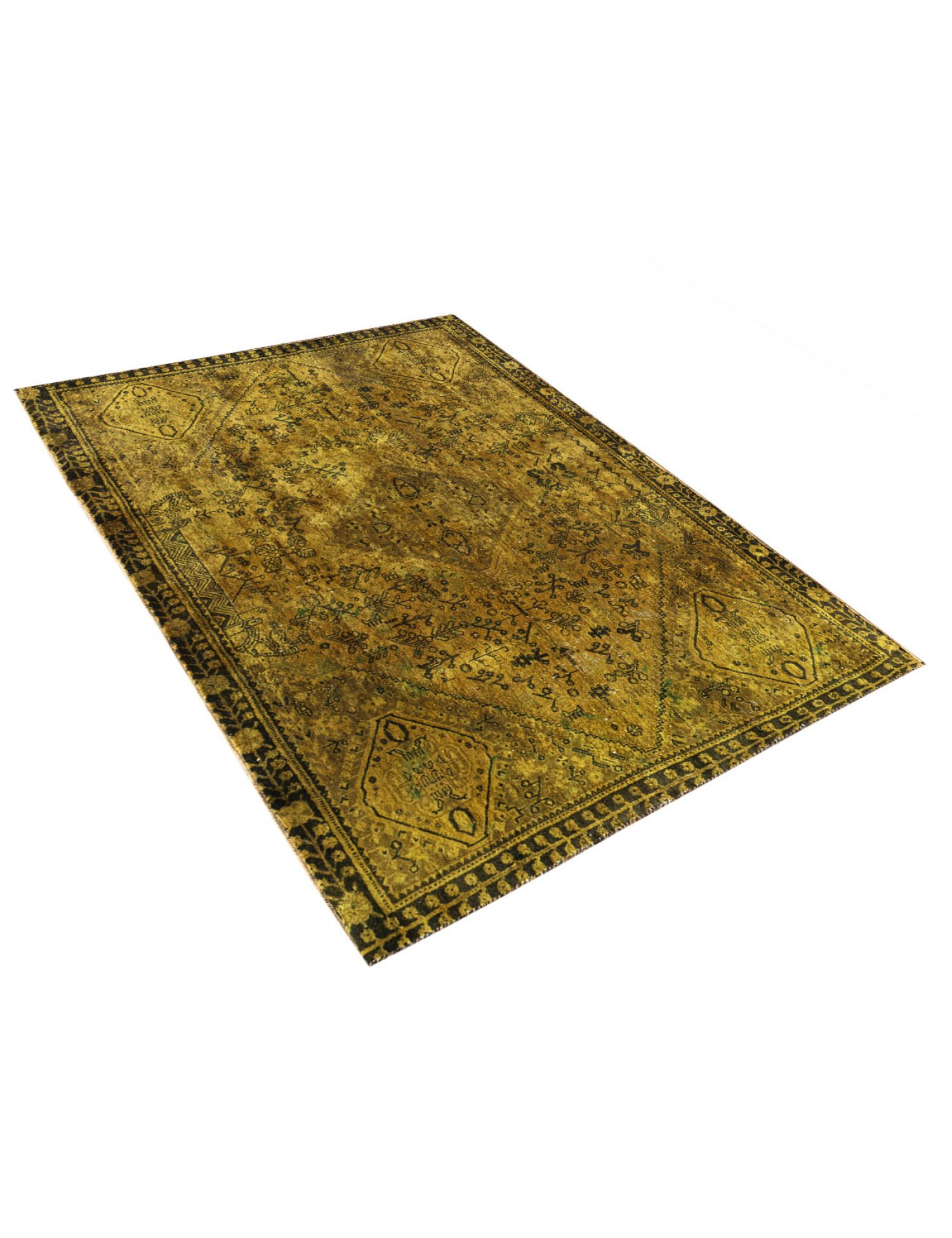 Vintage Carpet  yellow <br/>239 x 150 cm