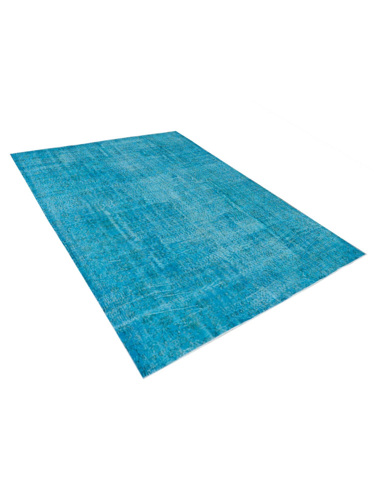 Vintage Teppich  blau <br/>297 x 198 cm