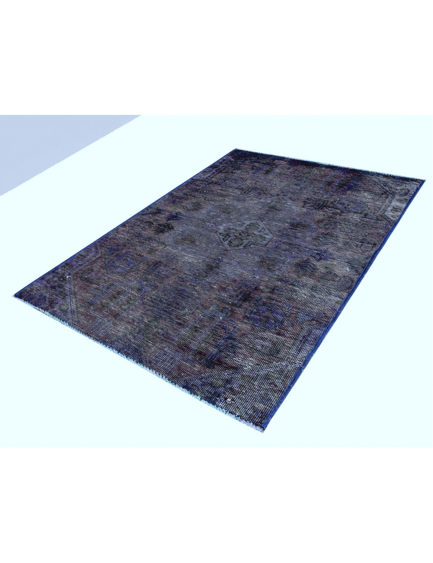 Vintage Carpet  blue <br/>137 x 80 cm