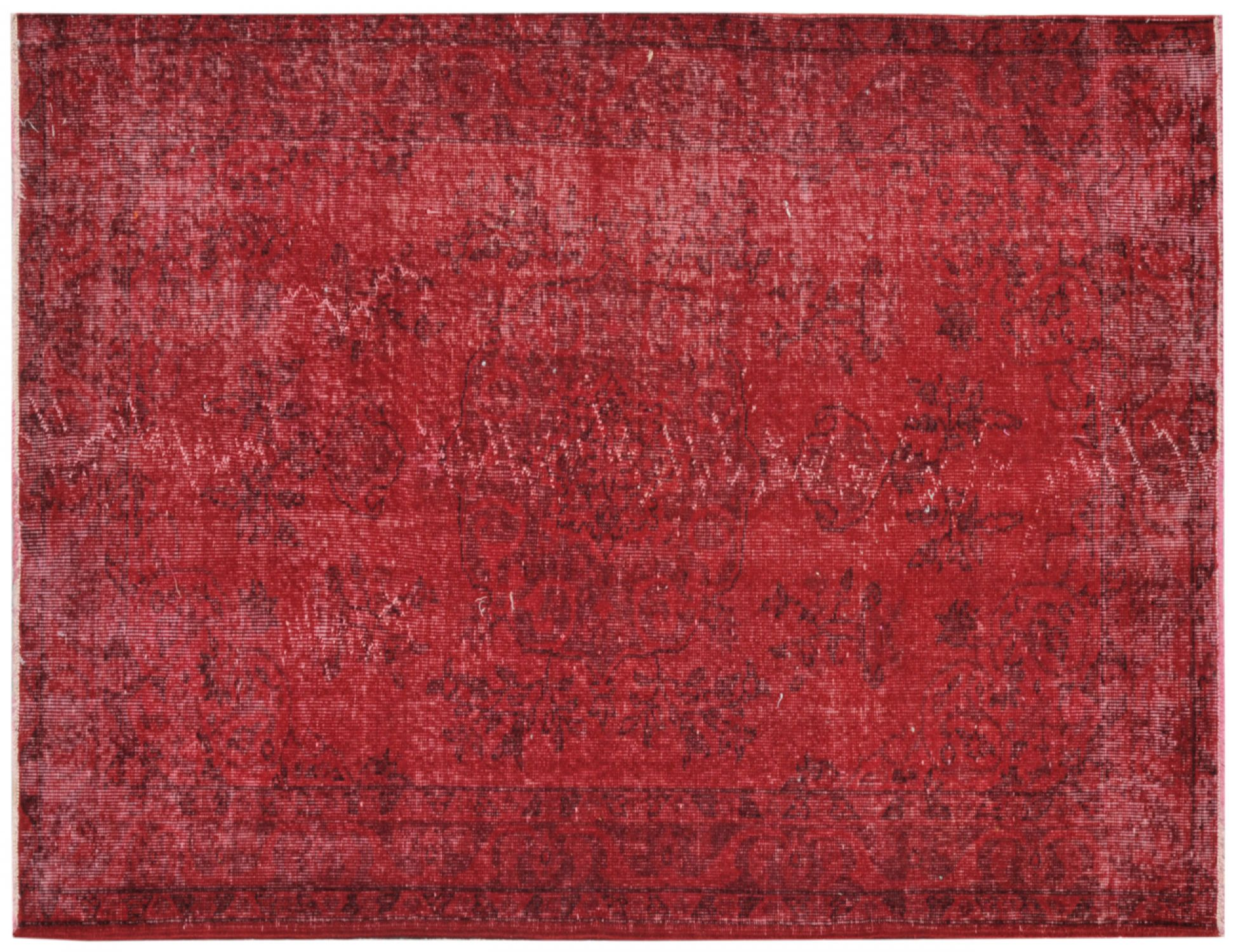 Vintage Carpet  red <br/>217 x 119 cm
