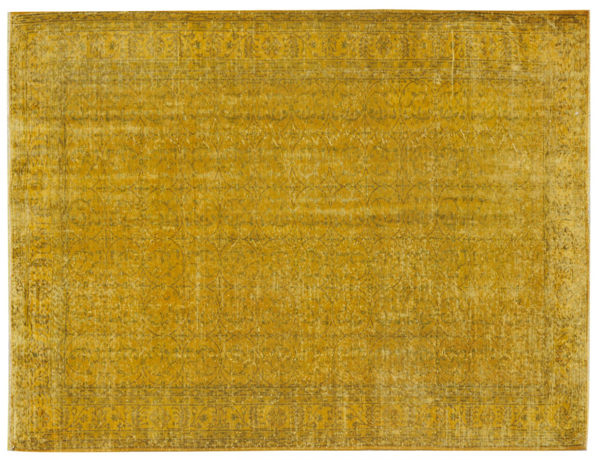 Vintage Carpet  yellow <br/>300 x 200 cm