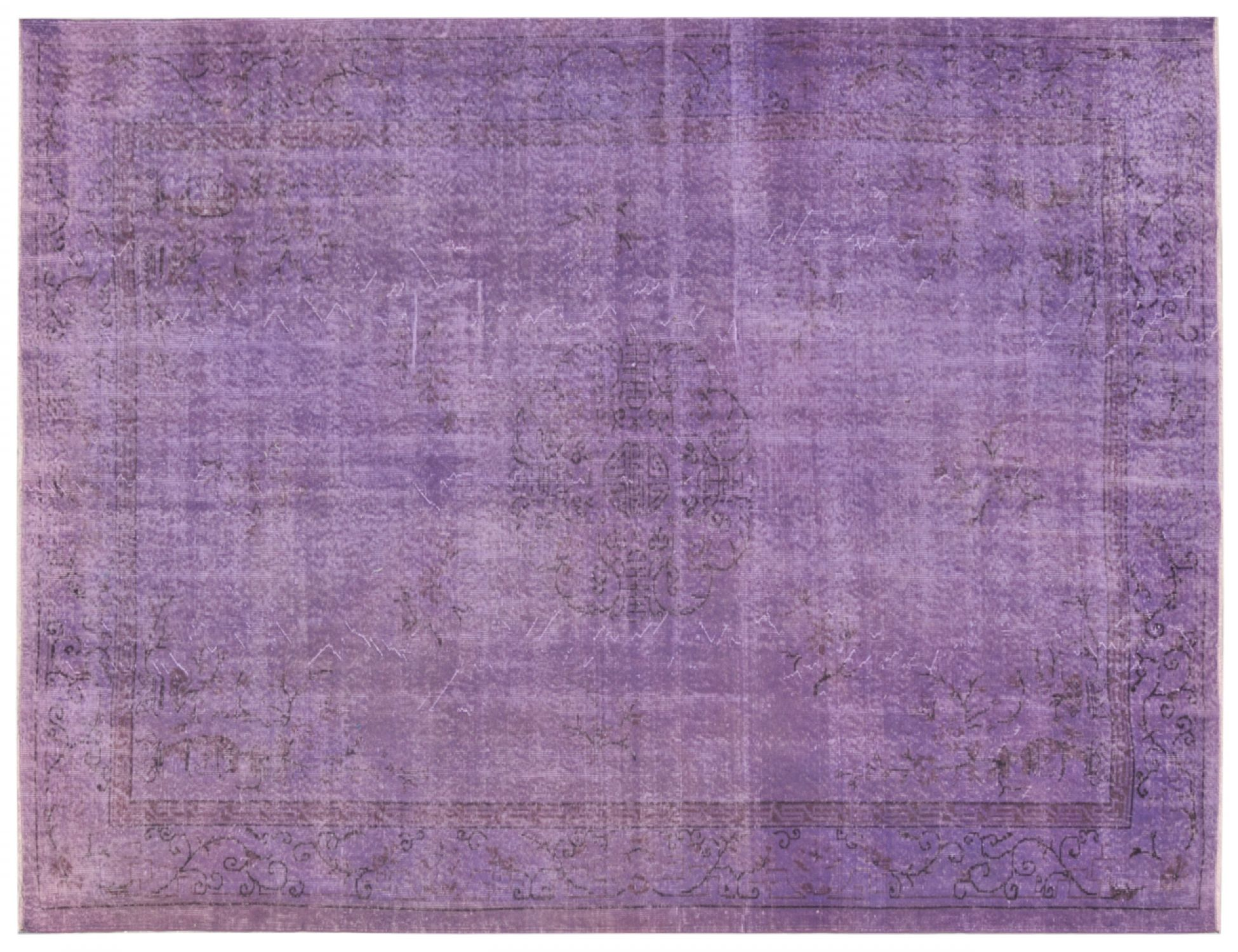 Vintage Carpet  purple <br/>306 x 210 cm
