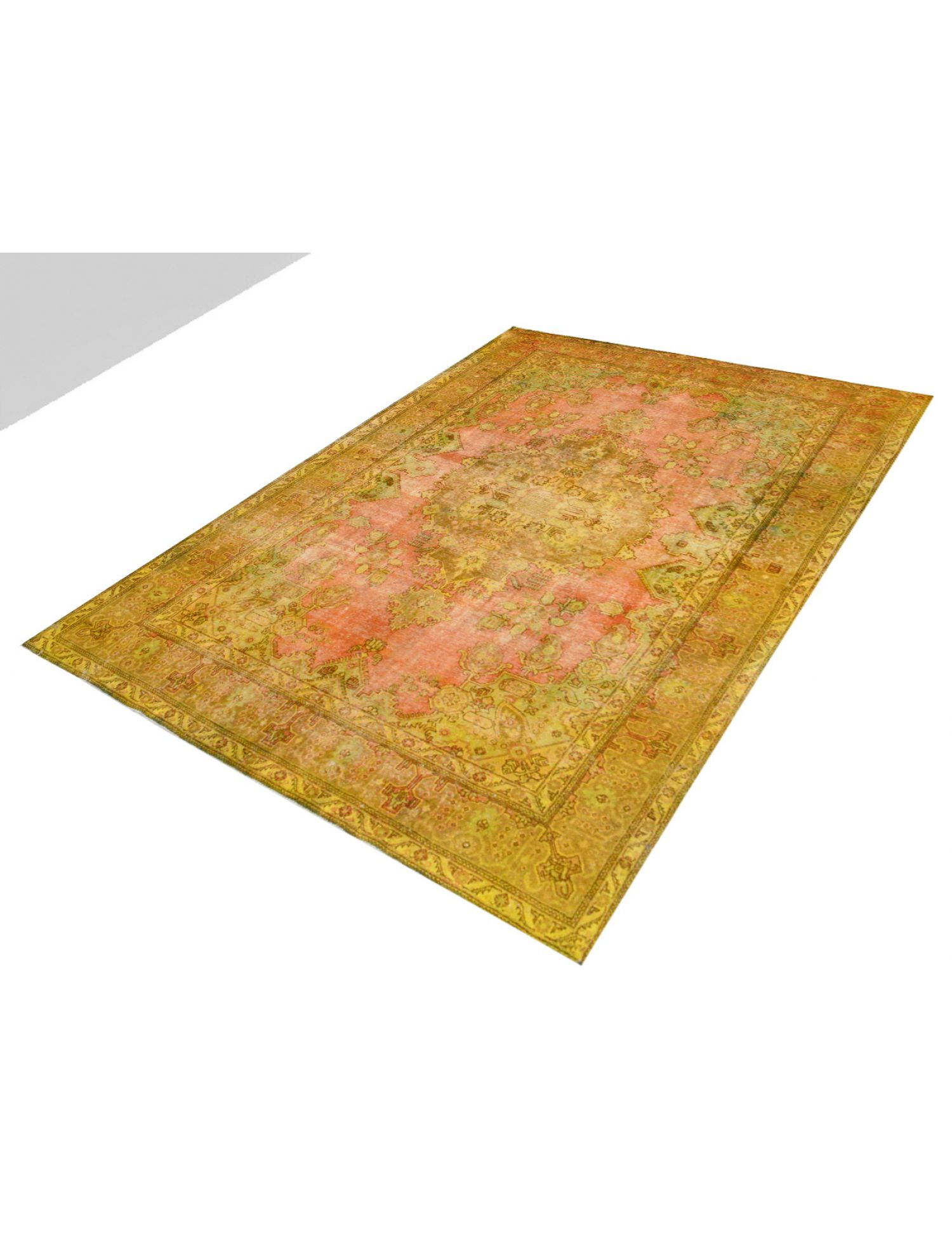 Vintage Carpet  yellow <br/>394 x 286 cm