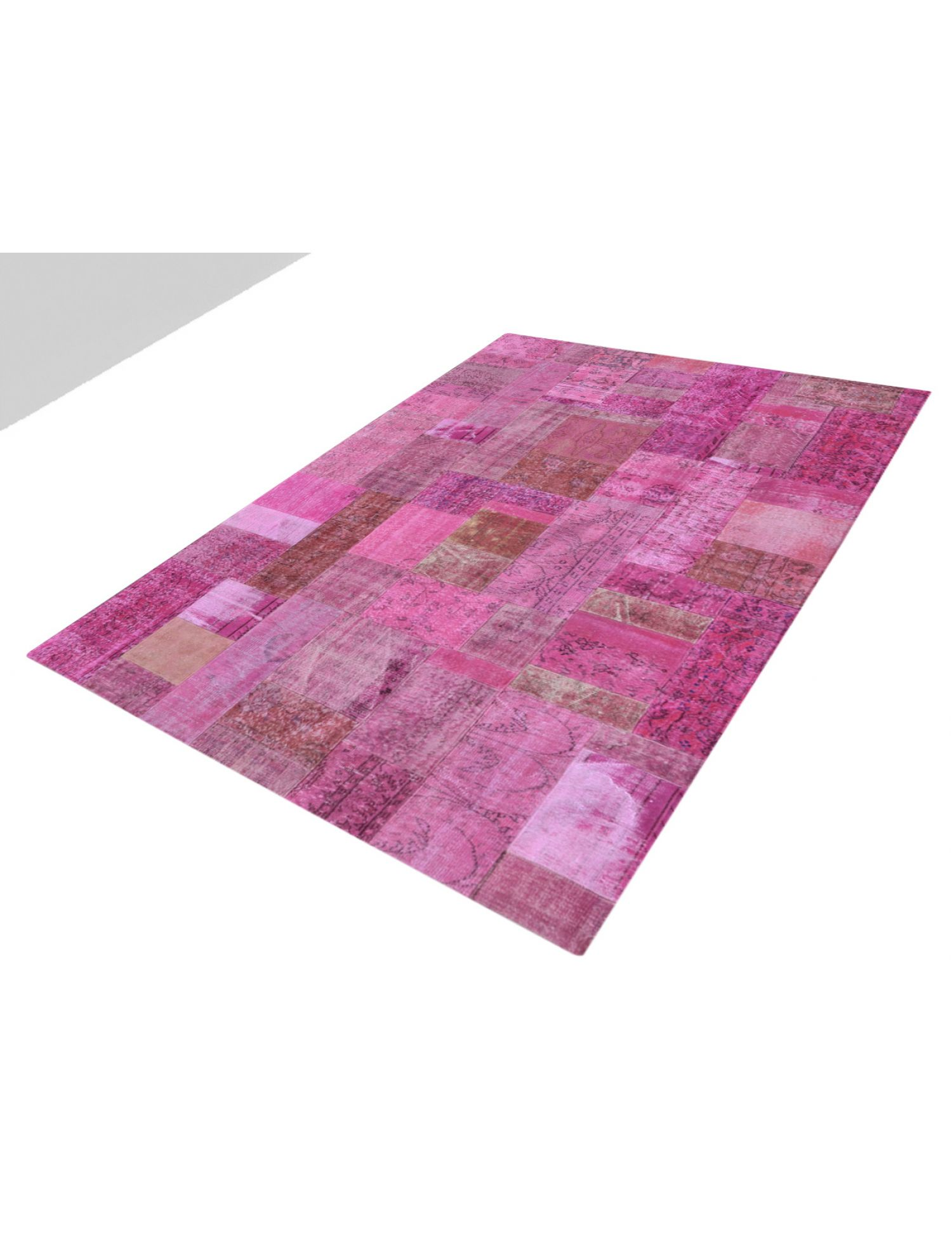 Patchwork Carpet   purple <br/>302 x 204 cm