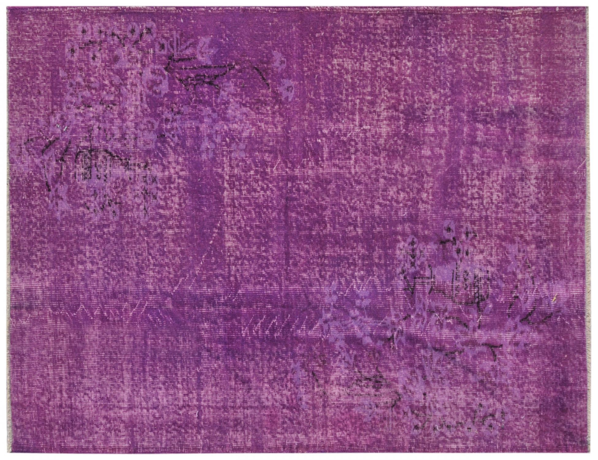 Vintage Carpet  purple <br/>198 x 118 cm
