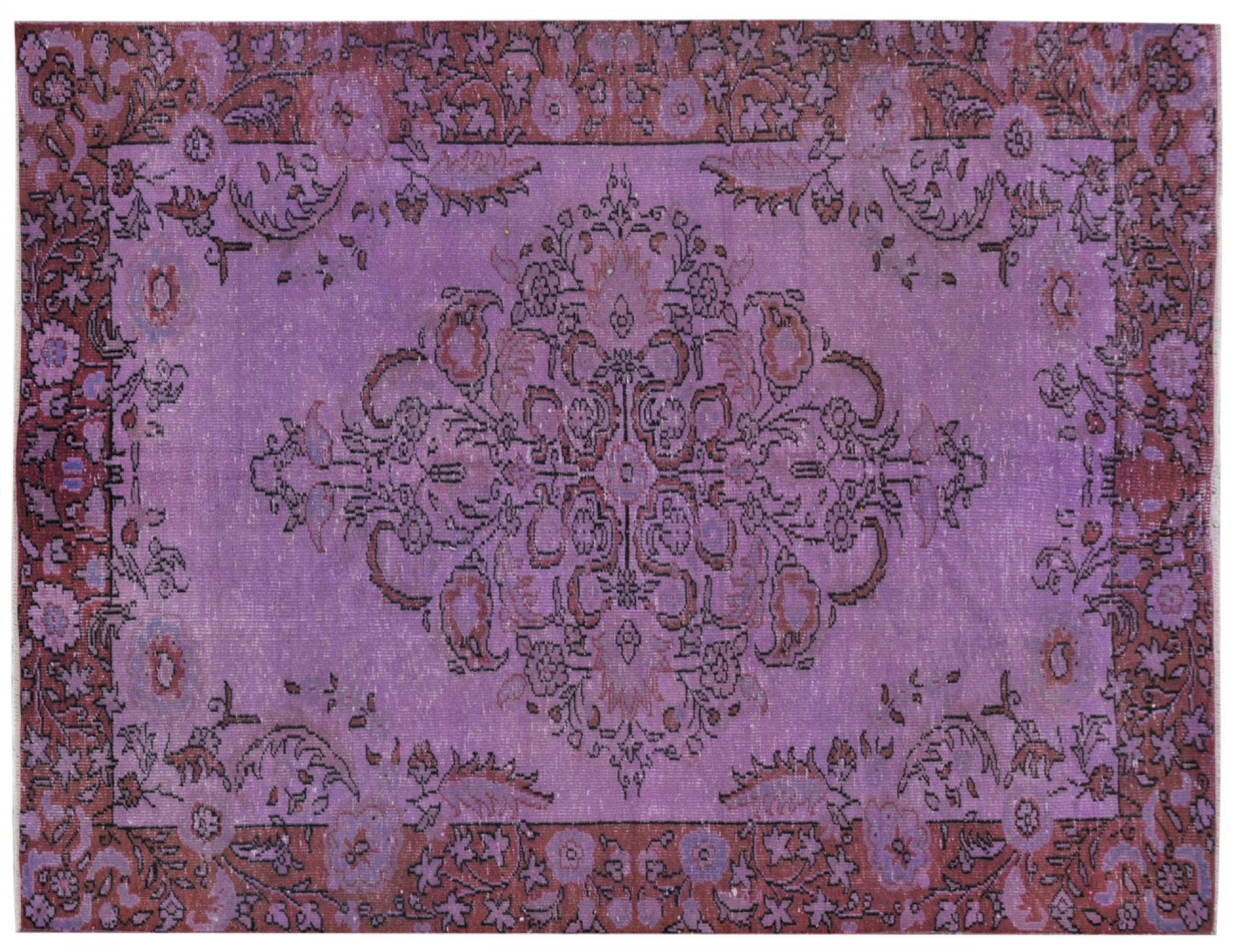 Vintage Carpet  purple <br/>250 x 164 cm