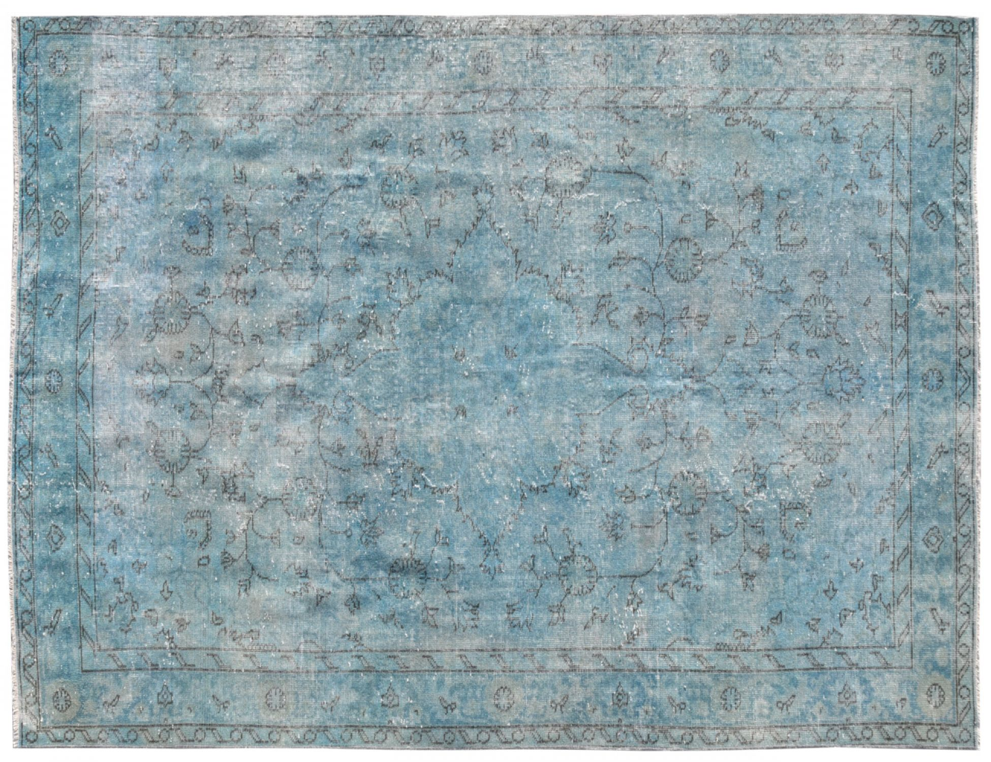 Vintage Carpet  blue <br/>270 x 164 cm