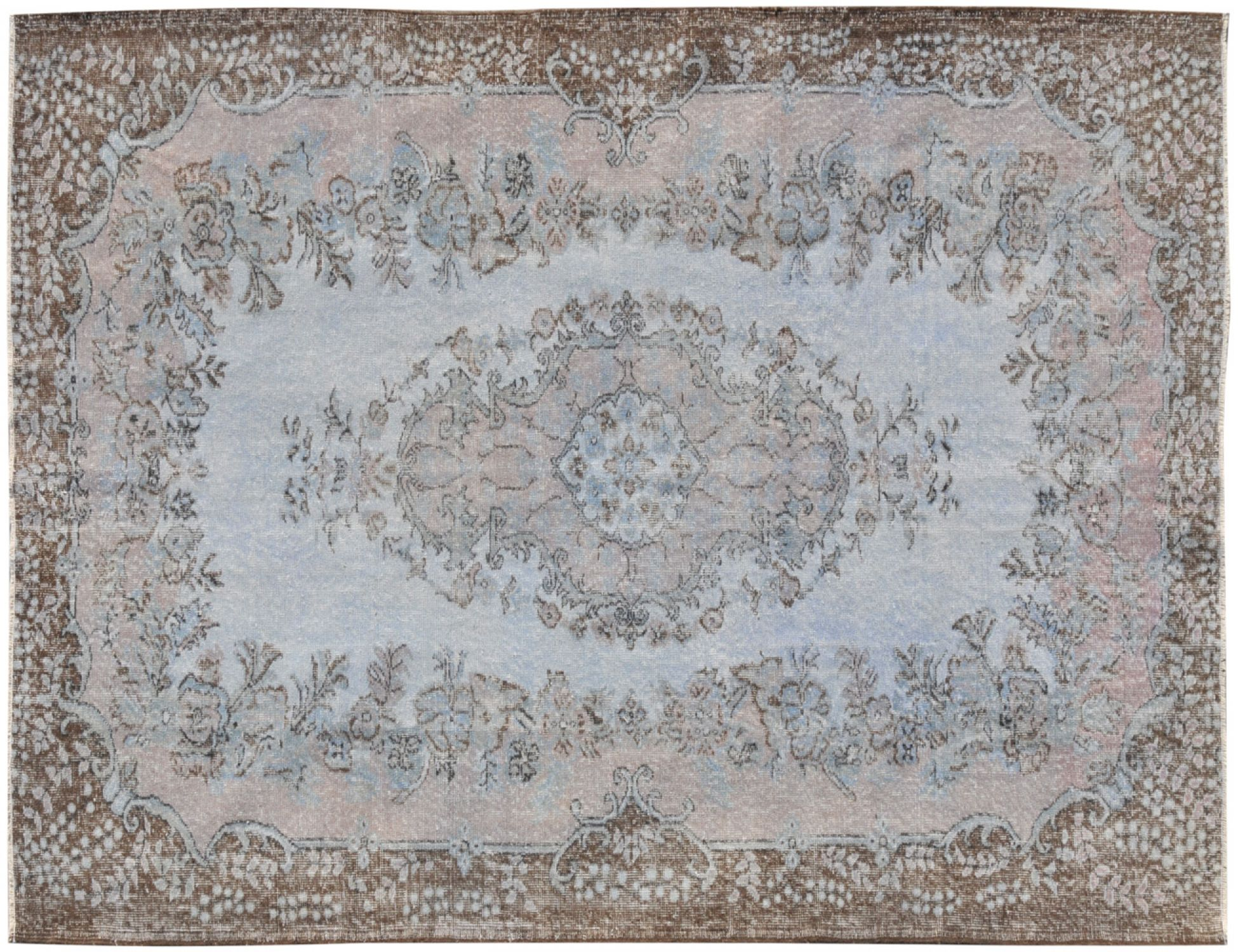 Vintage Carpet  blue <br/>288 x 180 cm