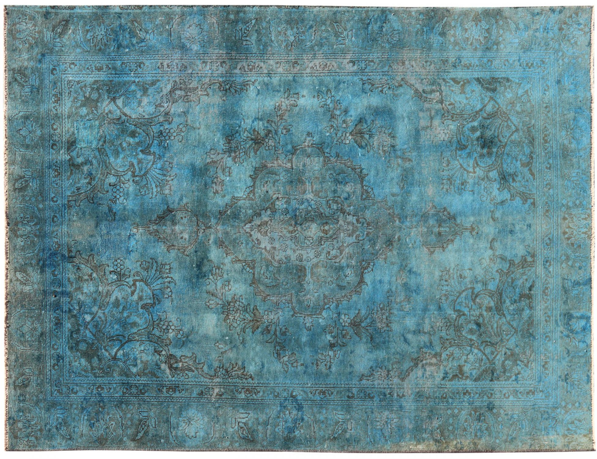 Vintage Carpet  blue <br/>267 x 178 cm
