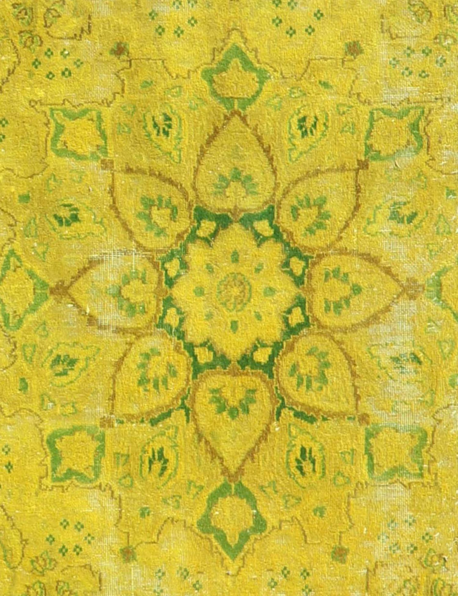 Vintage Carpet  yellow <br/>377 x 292 cm