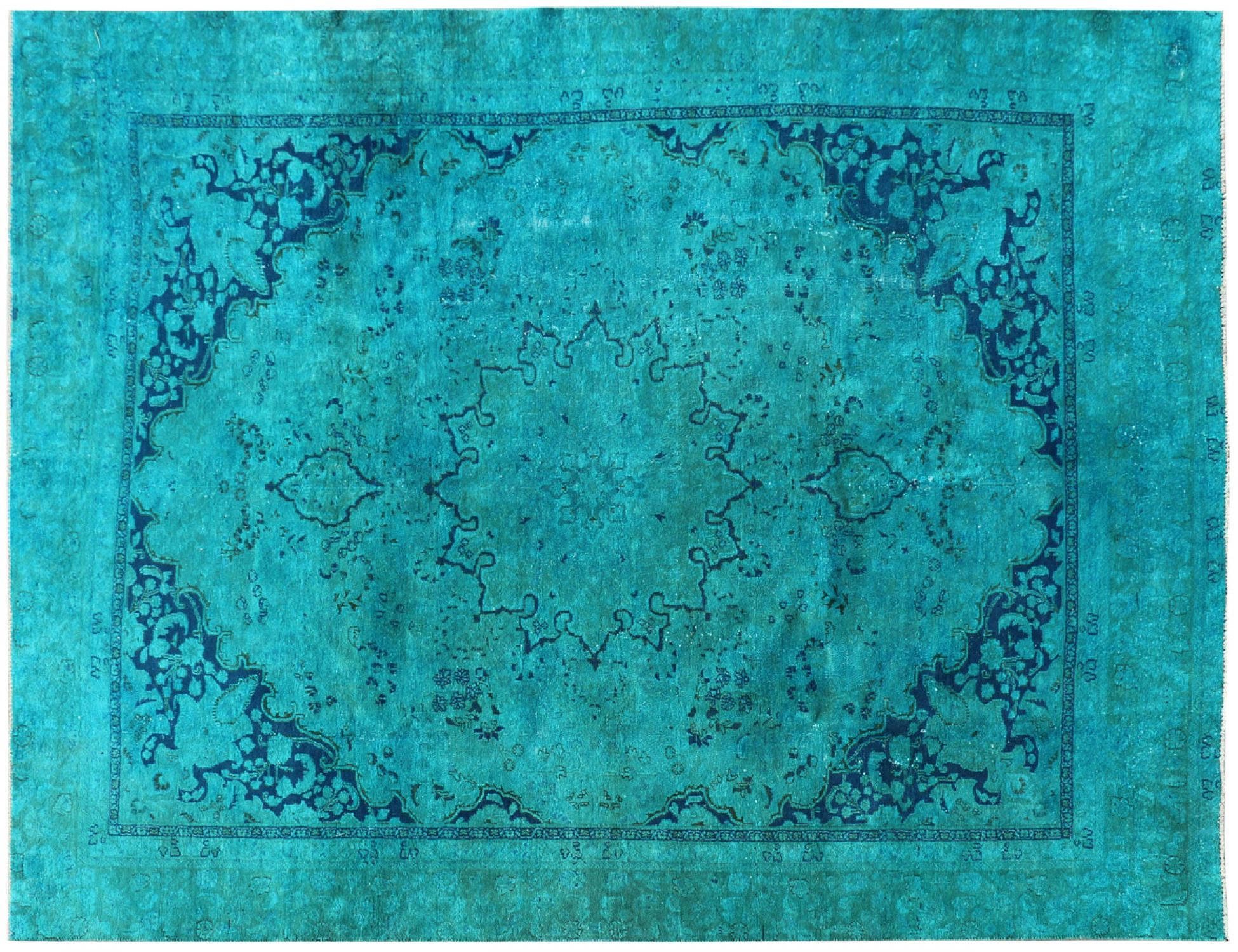 Vintage Carpet  blue <br/>350 x 258 cm