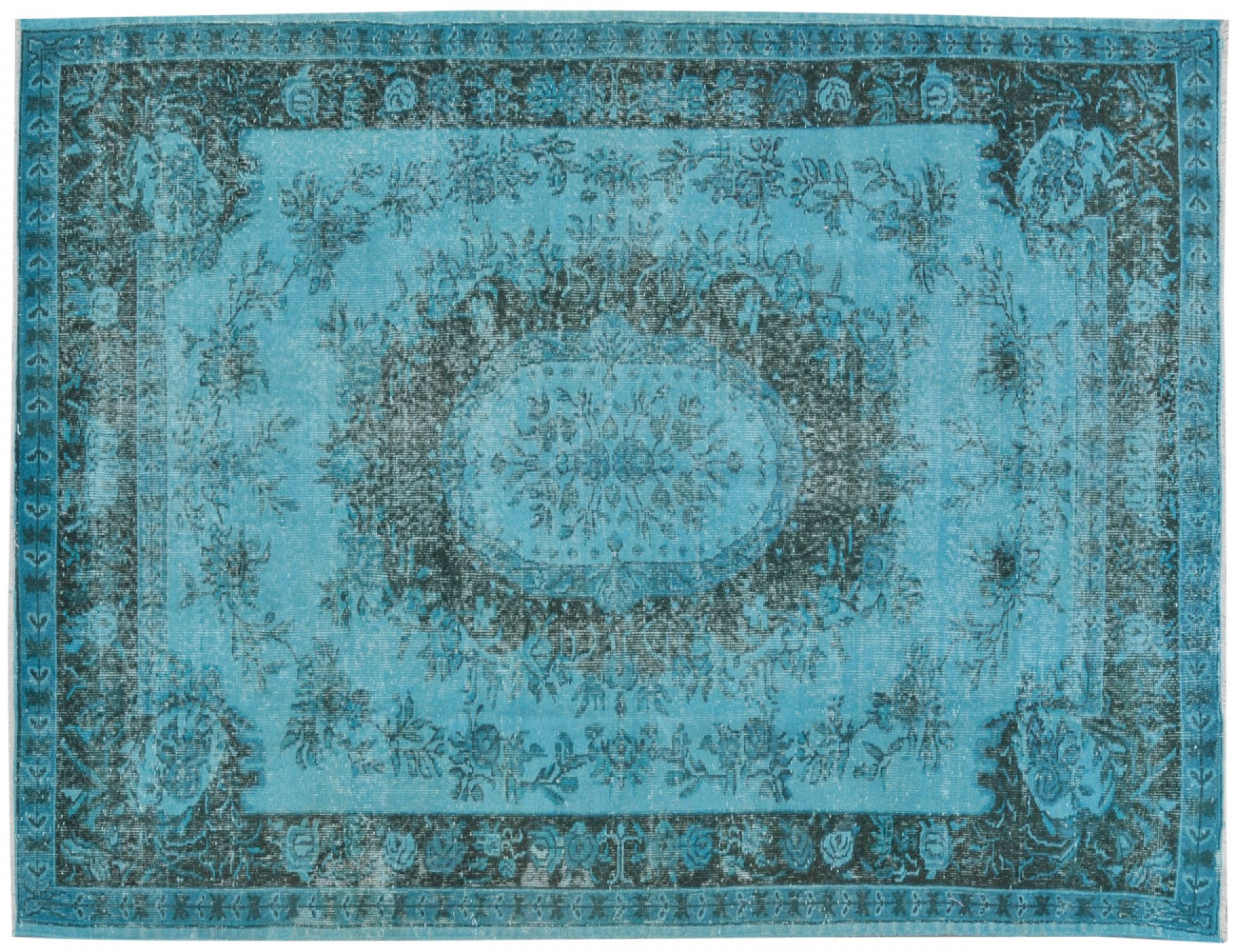 Vintage Carpet  blue <br/>280 x 171 cm