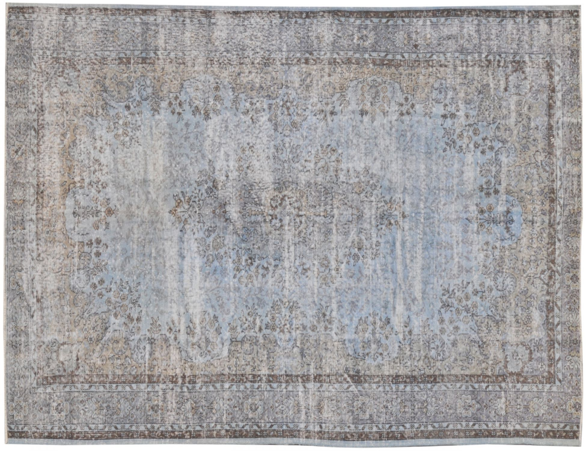 Vintage Carpet  blue <br/>304 x 216 cm