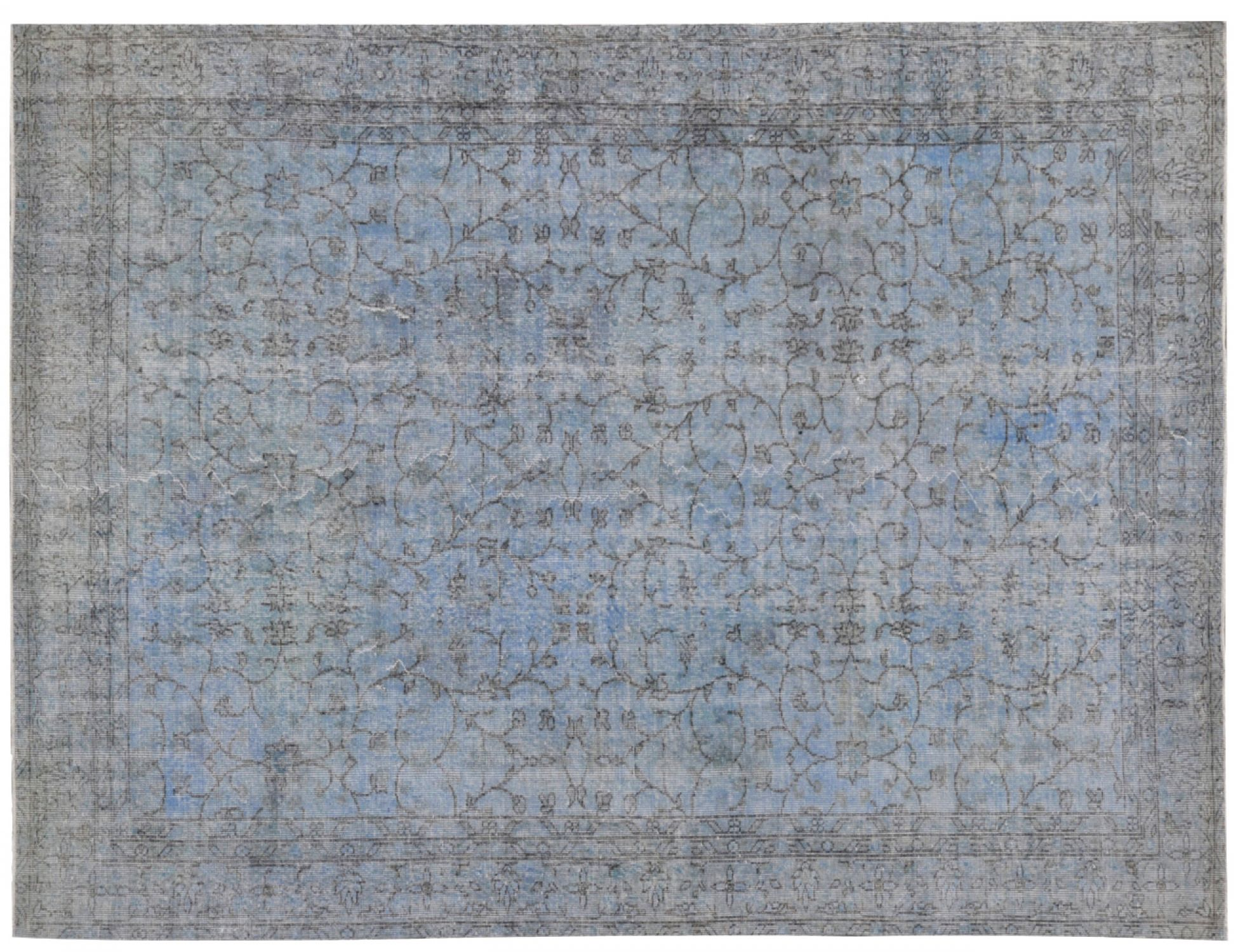 Vintage Carpet  blue <br/>305 x 192 cm