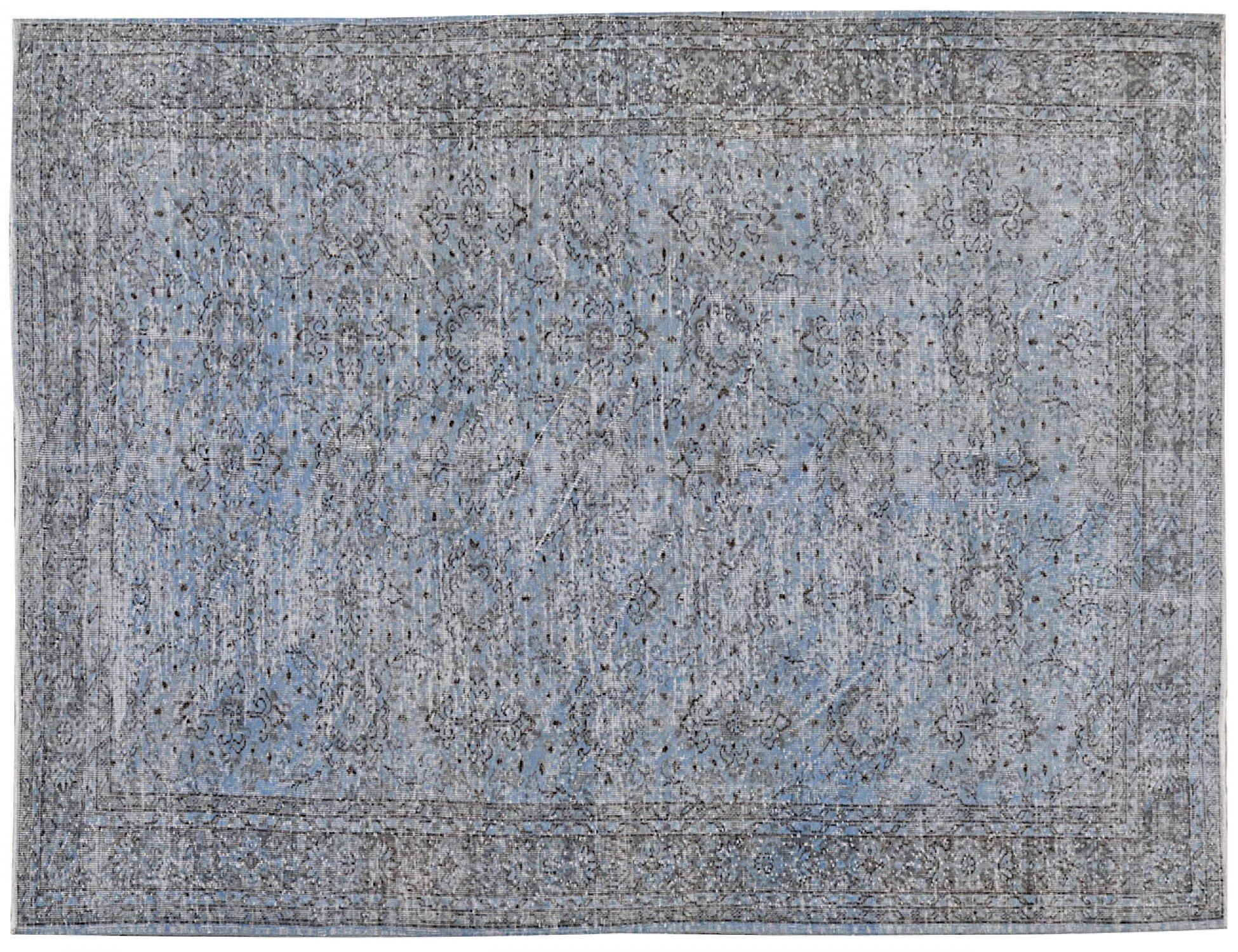 Vintage Carpet  blue <br/>314 x 210 cm