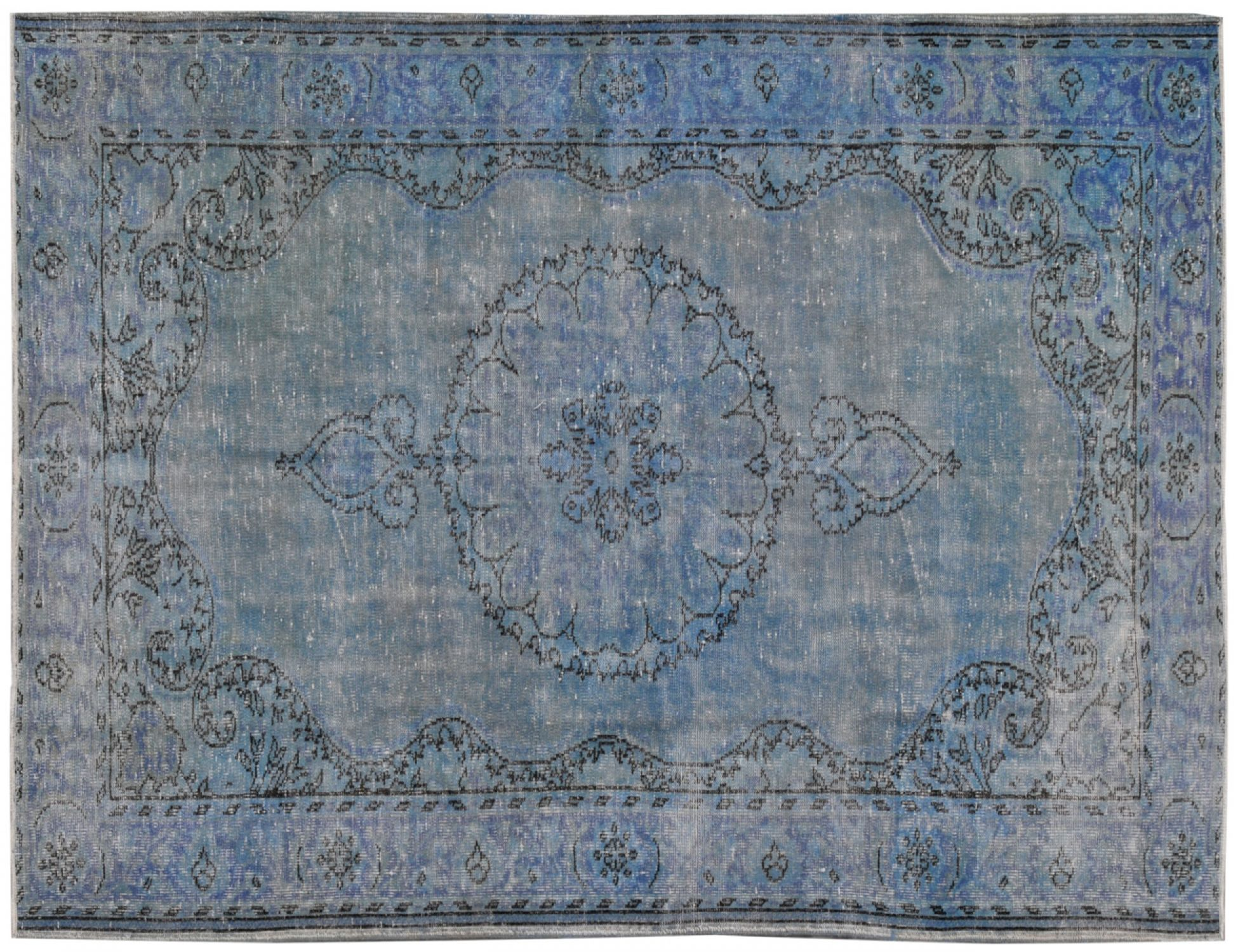 Vintage Carpet  blue <br/>283 x 182 cm