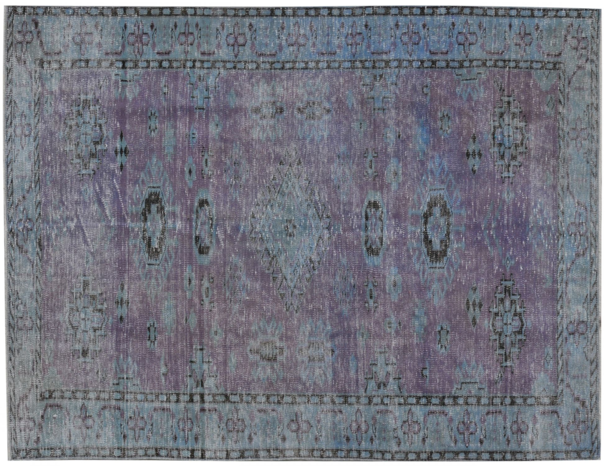 Vintage Carpet  blue <br/>261 x 185 cm