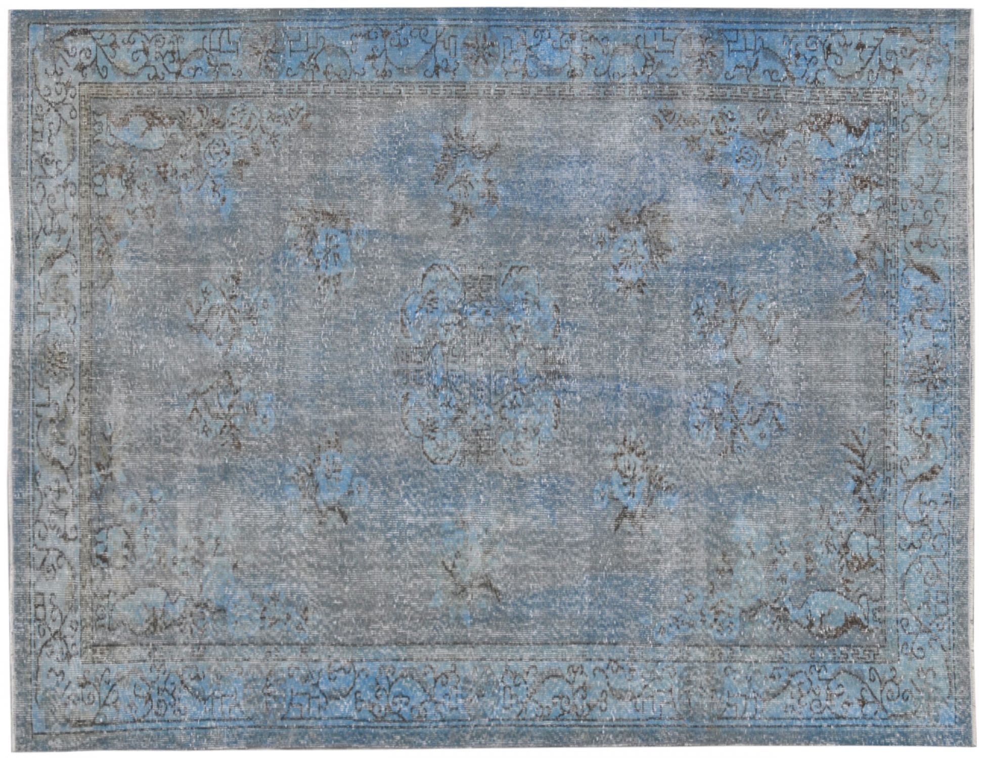 Vintage Carpet  blue <br/>282 x 164 cm