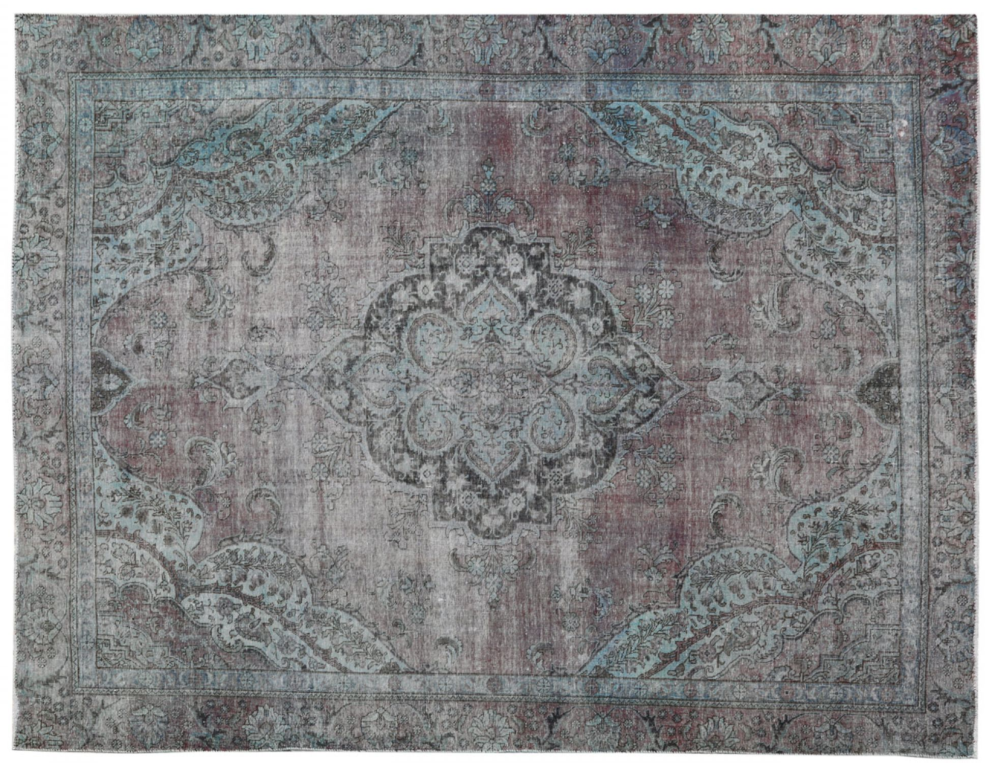 Vintage Carpet  blue <br/>355 x 278 cm