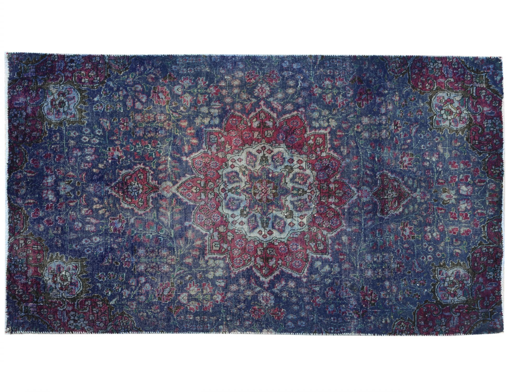 Vintage Carpet  blue <br/>210 x 126 cm