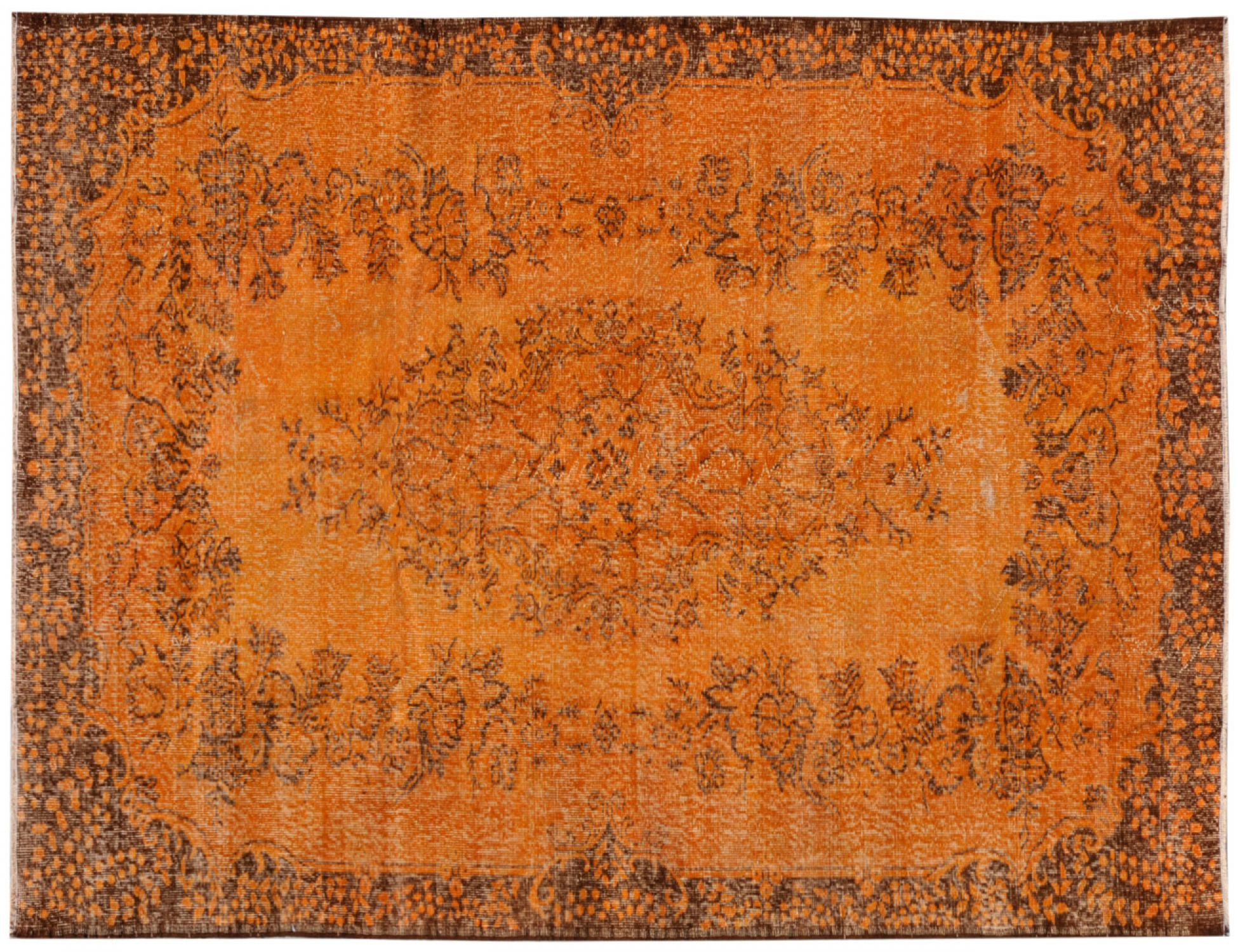 Vintage Carpet  orange <br/>306 x 183 cm